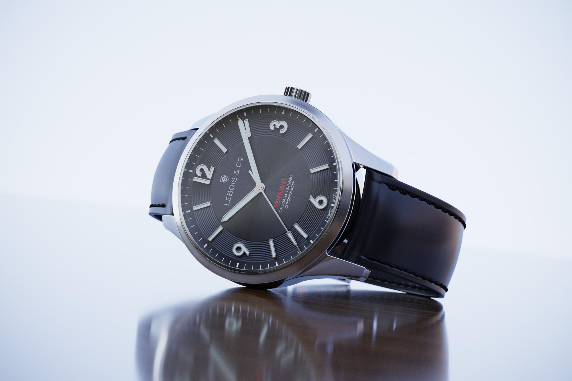 Lebois and Co Venturist Chronometer watch