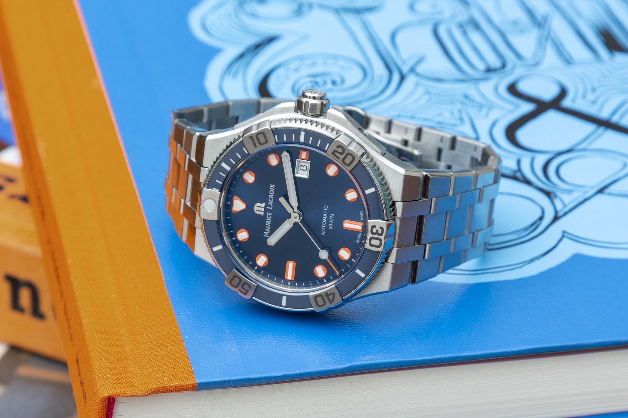 Maurice Lacroix Aikon Venturer Limited Edition Timecode Treasure Hunt