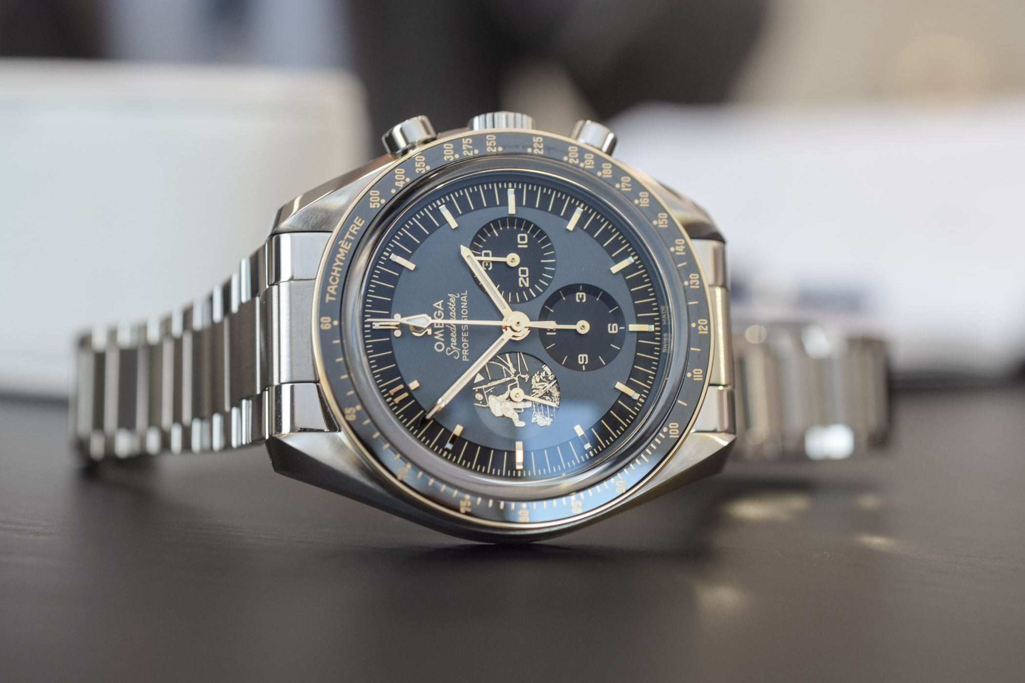 OMEGA Speedmaster Apollo 11 50th Anniversary Limited Edition Steel 310.20.42.50.01.001