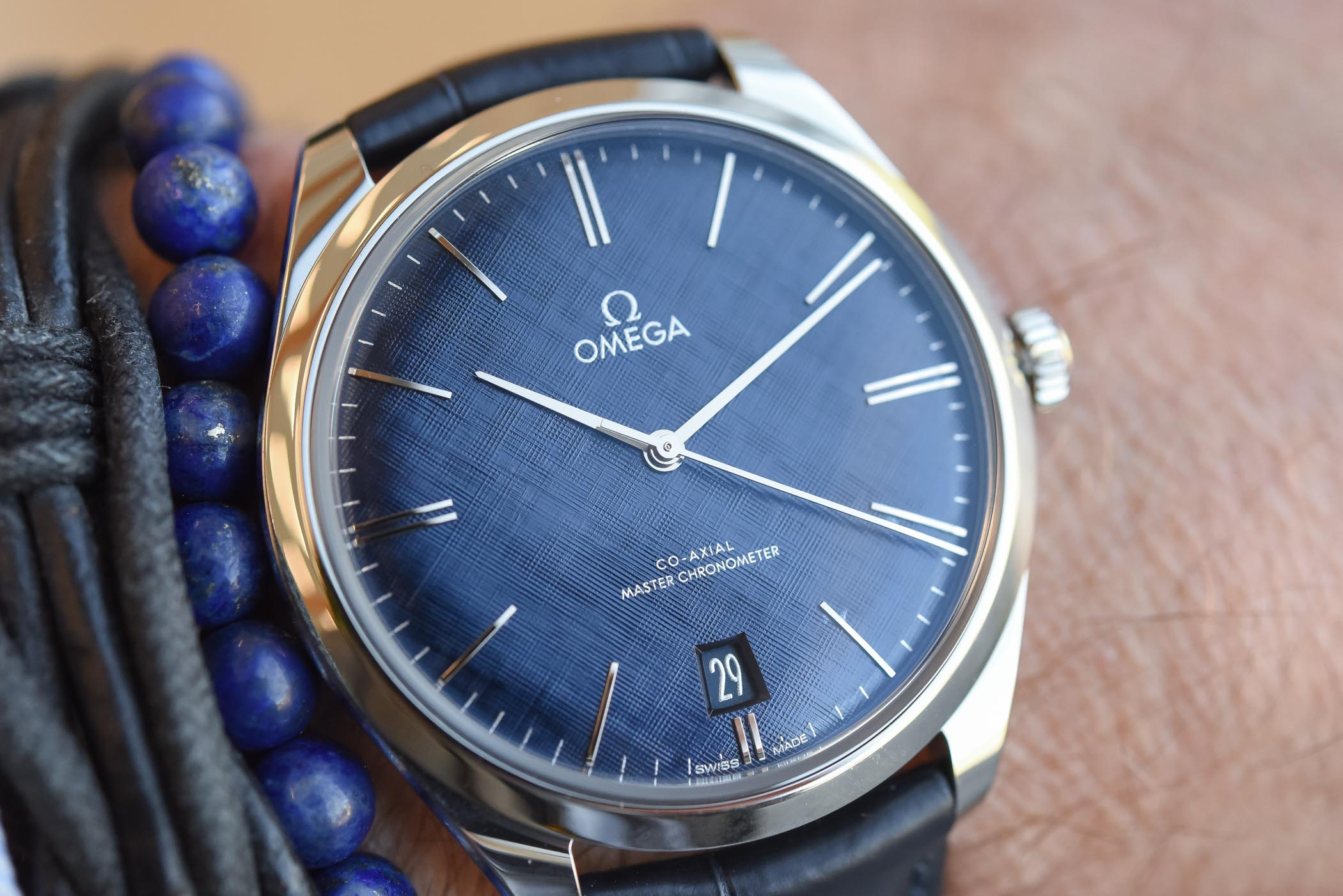 Omega De Ville Tresor Steel Master Chronometer 2019