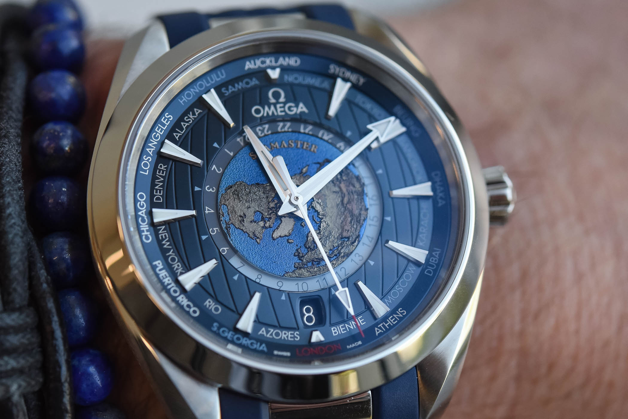 Omega Seamaster Aqua Terra Worldtimer