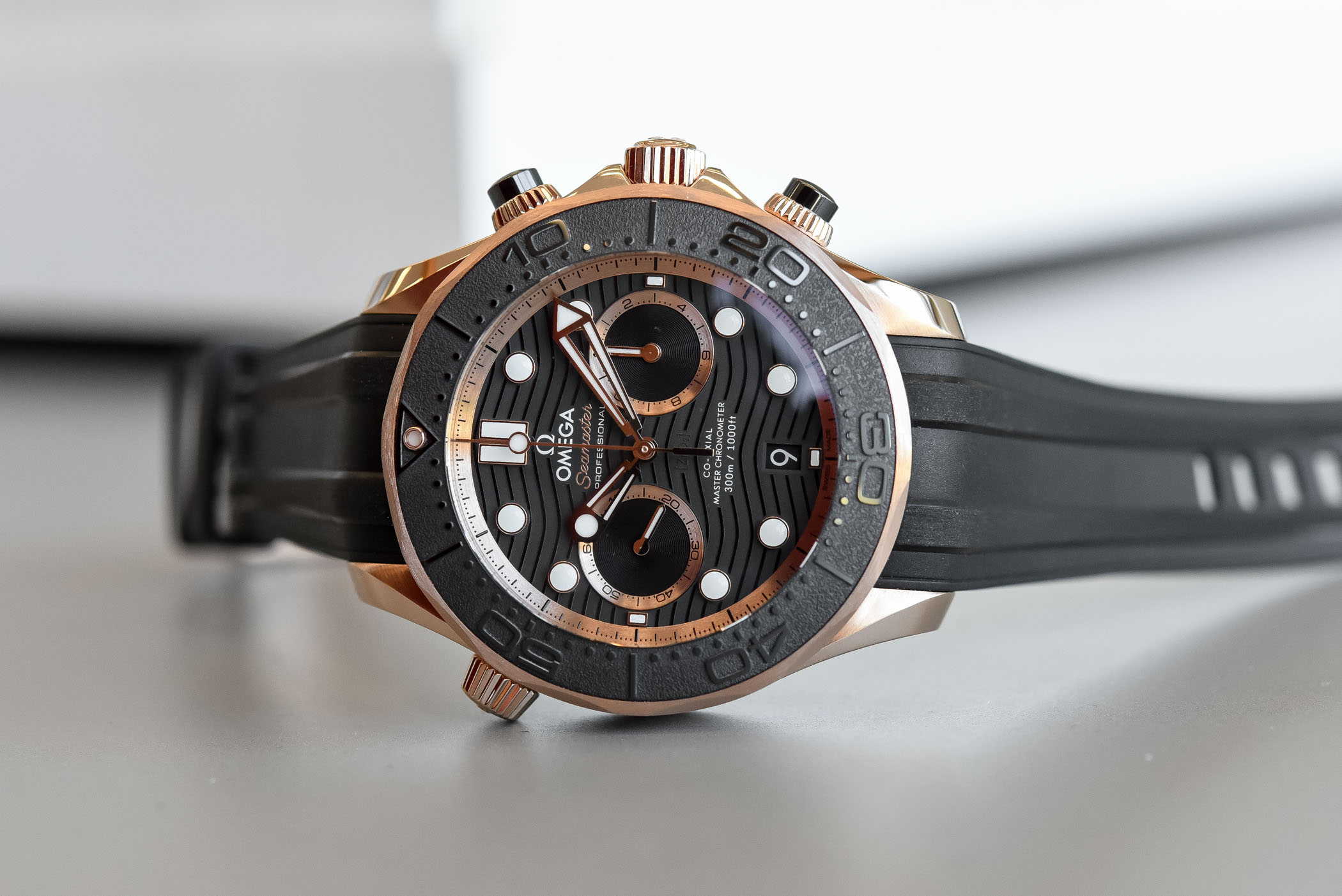 Omega Seamaster Diver 300m Chronograph Hands On