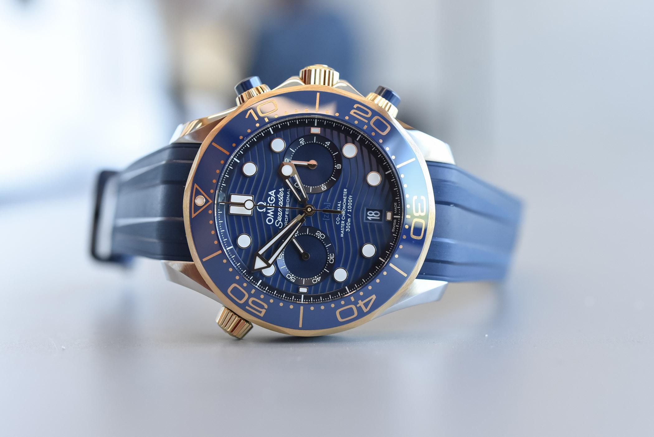 Omega Seamaster Diver 300M Chronograph Master Chronometer 2019