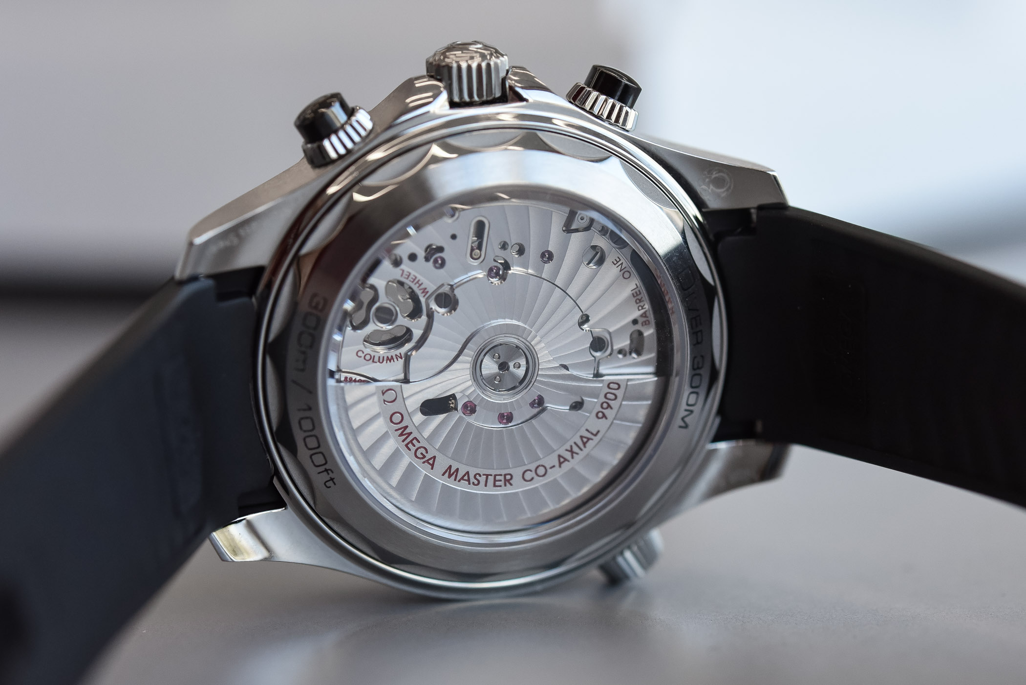 Omega Seamaster Diver 300M Chronograph (Hands-On