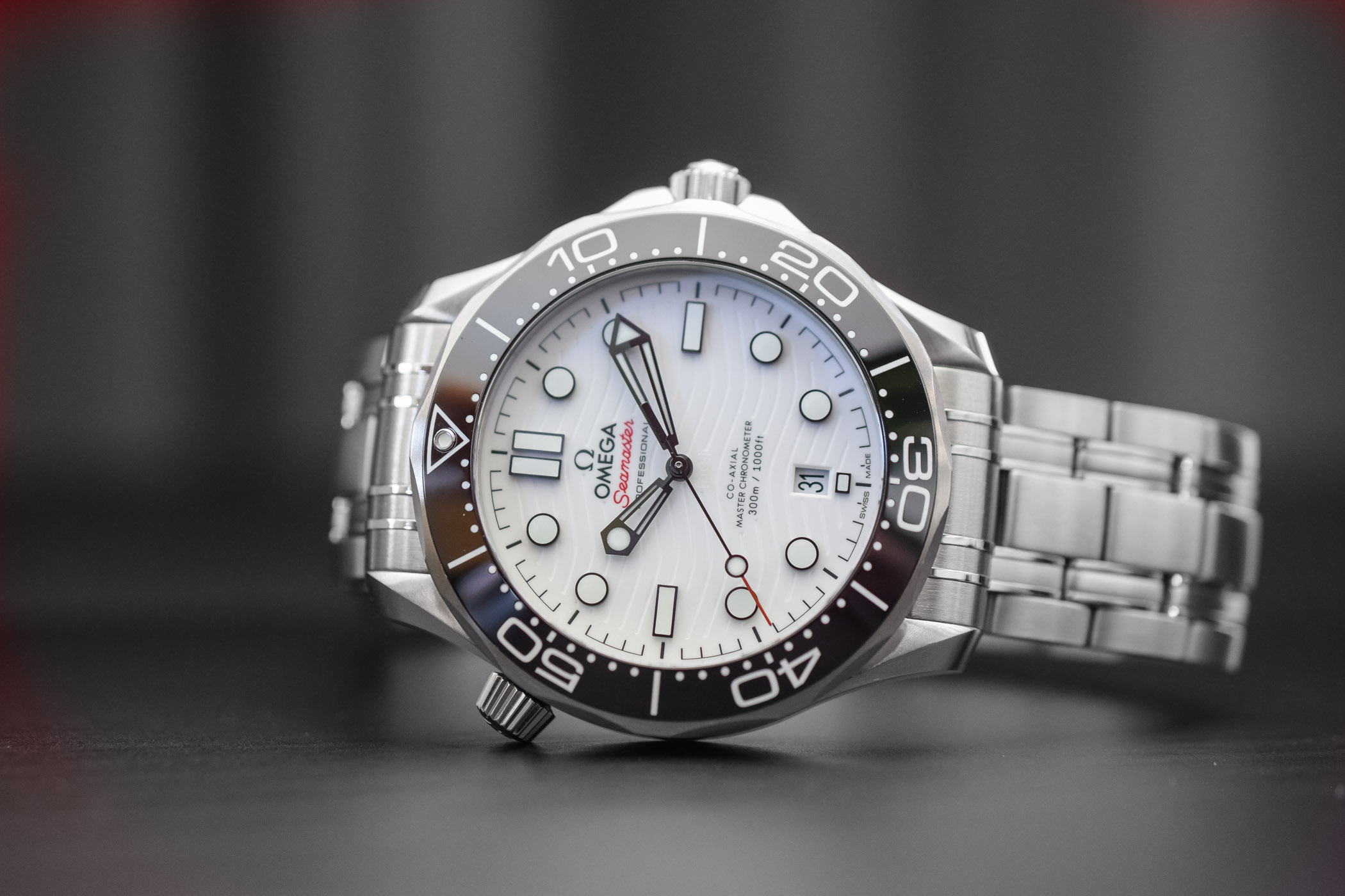 Introducing Omega Seamaster Diver 300m Now With White