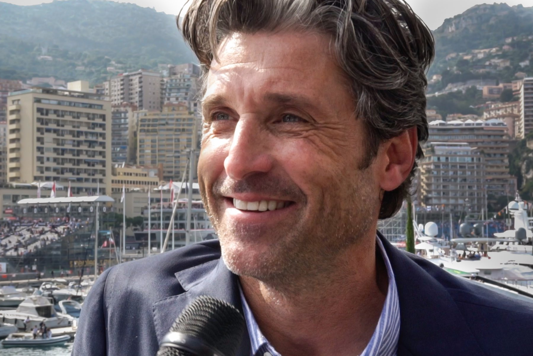 Patrick Dempsey TAG Heuer Monaco F1 Monaco GP Interview