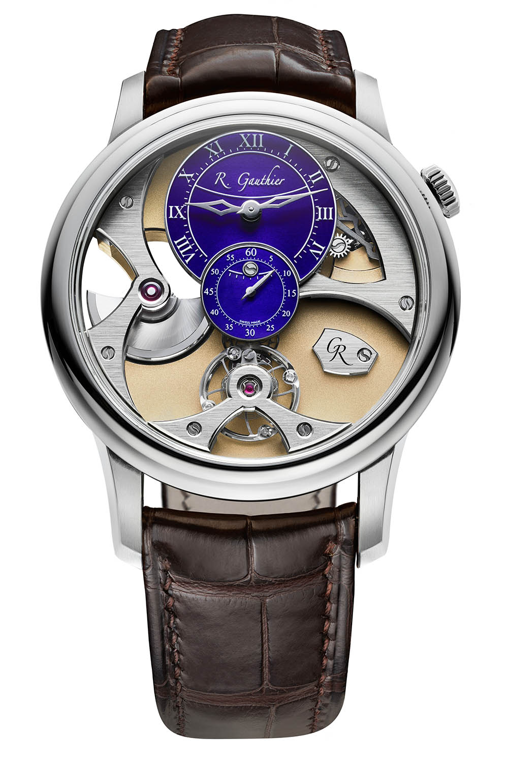 Romain Gauthier Insight Micro-Rotor White Gold - 1