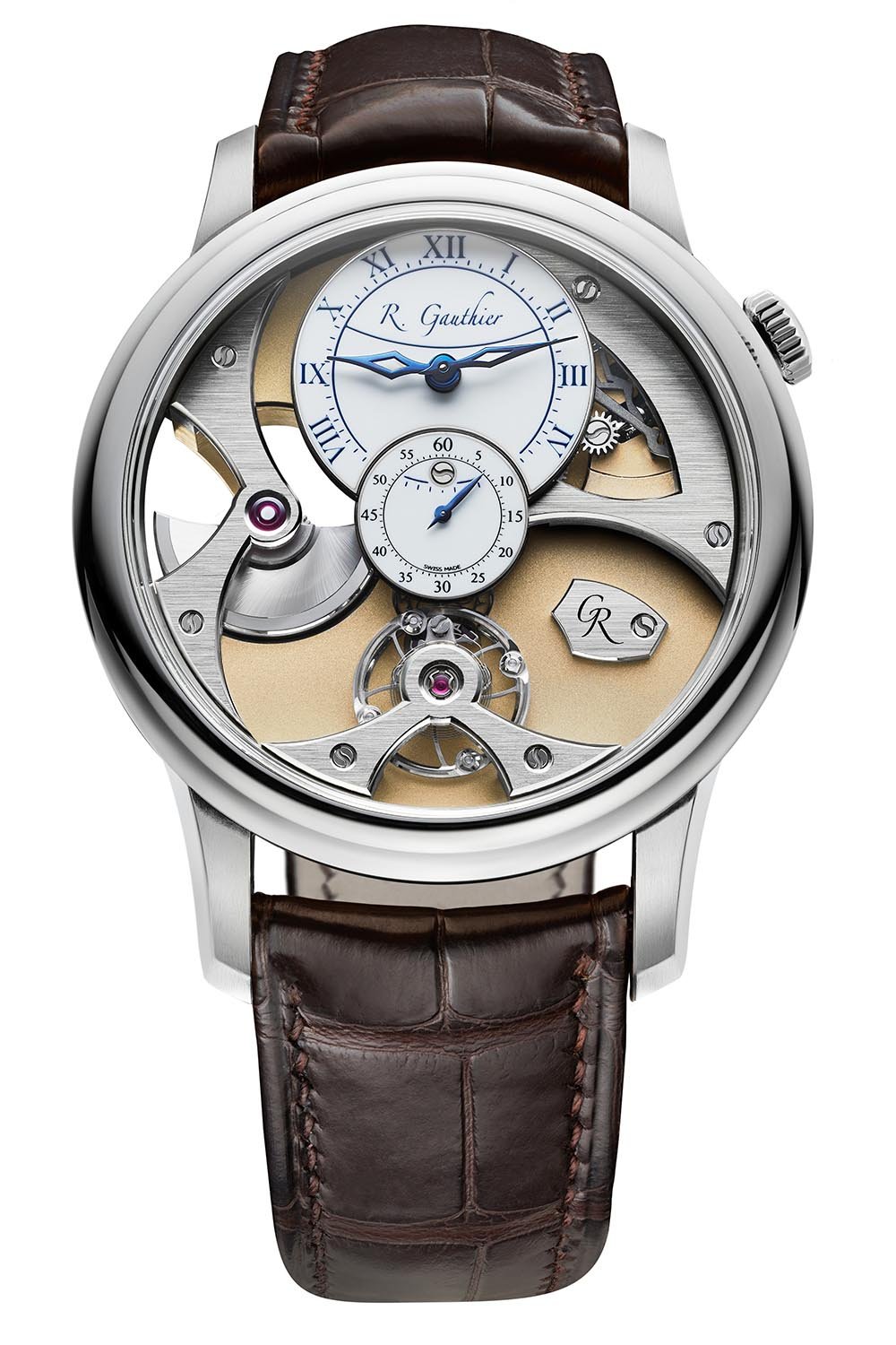 Romain Gauthier Insight Micro-Rotor White Gold - 2
