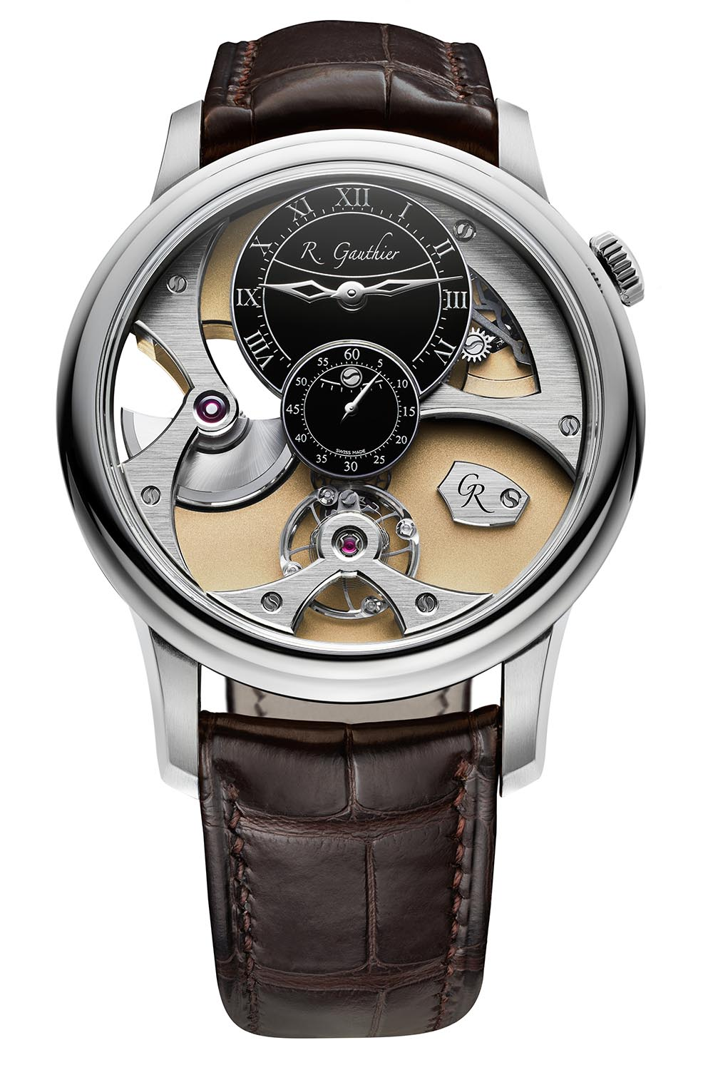 Romain Gauthier Insight Micro-Rotor White Gold - 3