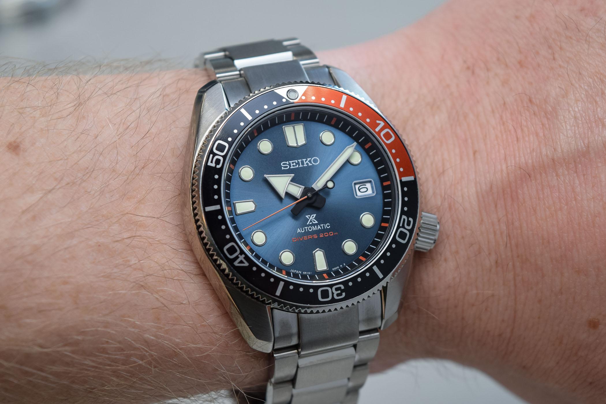 Seiko Prospex special edition Twilight Blue SPB097J1 Europe and USA