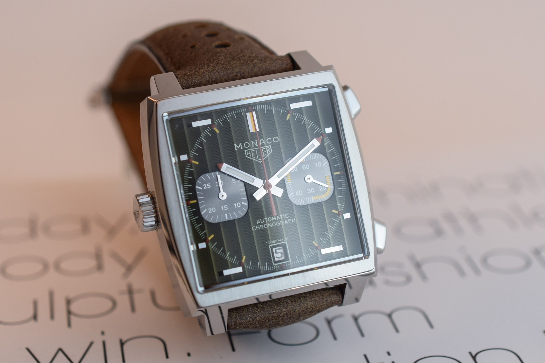 This Tag: TAG Heuer Monaco 1969-1979 Limited Edition 50th