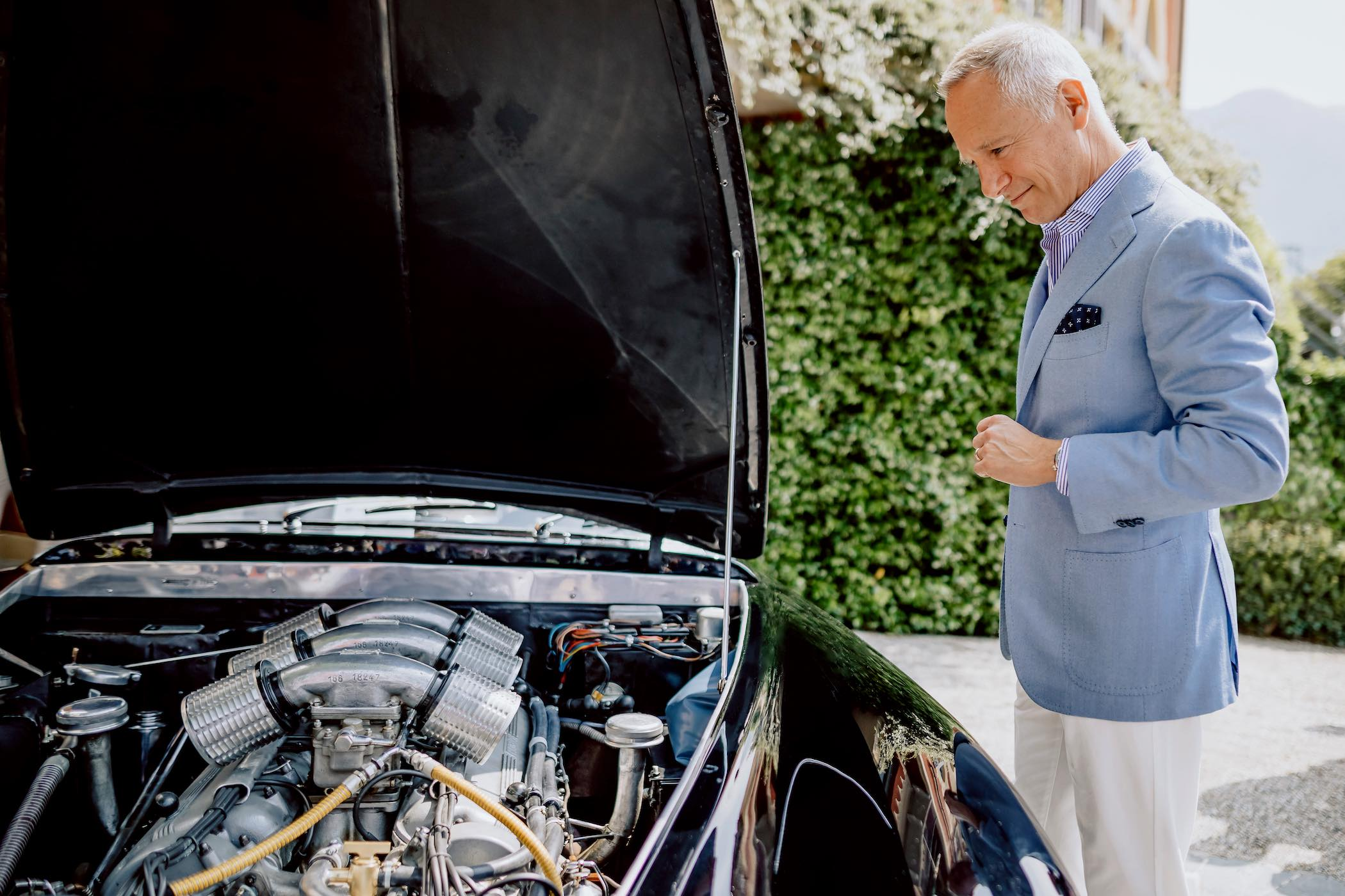 The Petrolhead Corner - Talking Cars and watches Wilhelm Schmid CEO A Lange and Sohne at Concorso d'Eleganza Villa d'Este 2019
