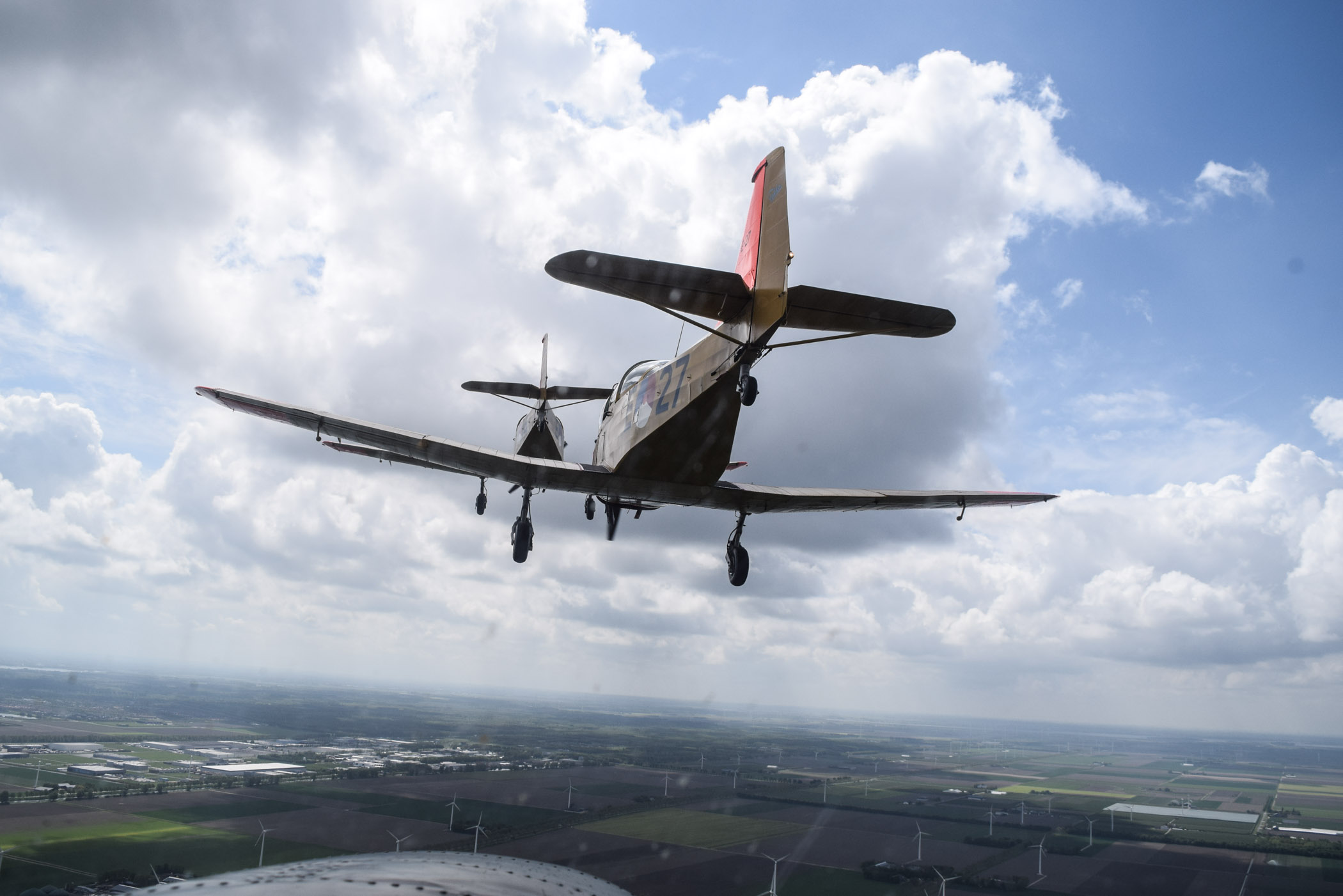 Up in the air with a Van der Gang Vlieger watch - 3
