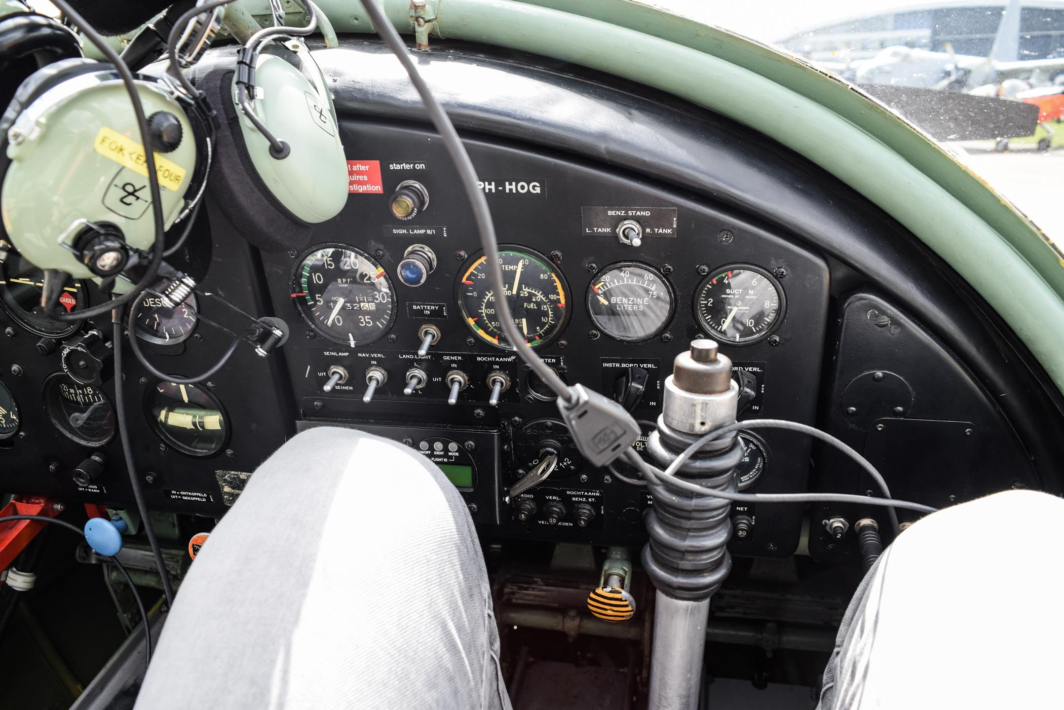 Up in the air with a Van der Gang Vlieger watch - 5