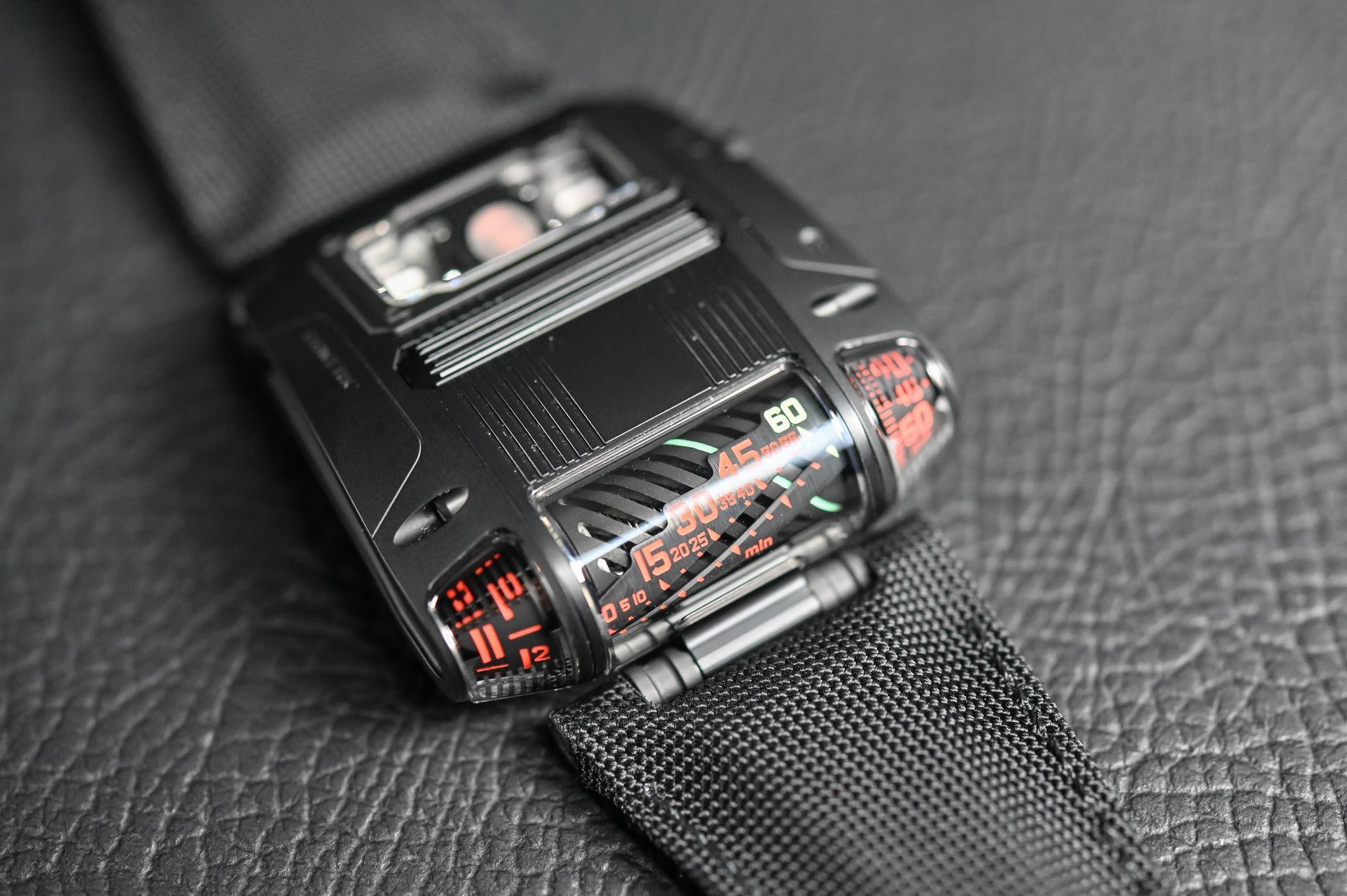 Hands-On - Urwerk UR-111C Black Cobra (Specs & Price)