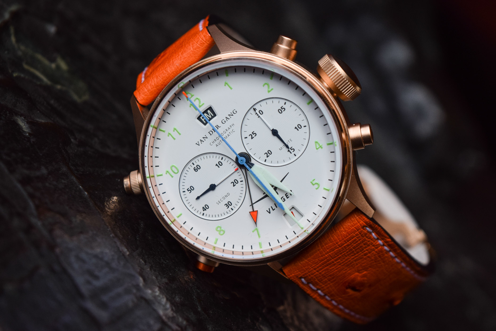 Van Der Gang Vlieger Chronograph