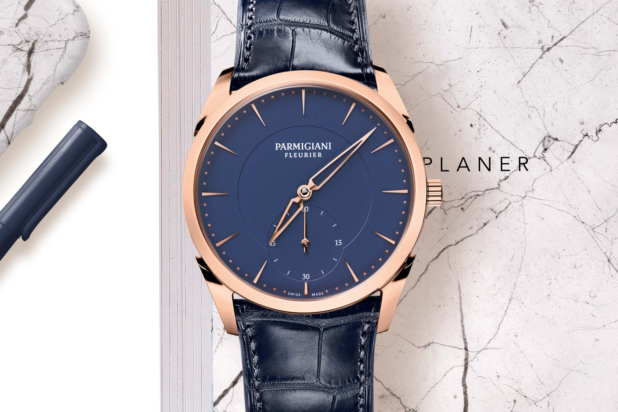 2019 Redesigned Parmigiani Fleurier Tonda 1950 Ultra-Thin Dress Watch