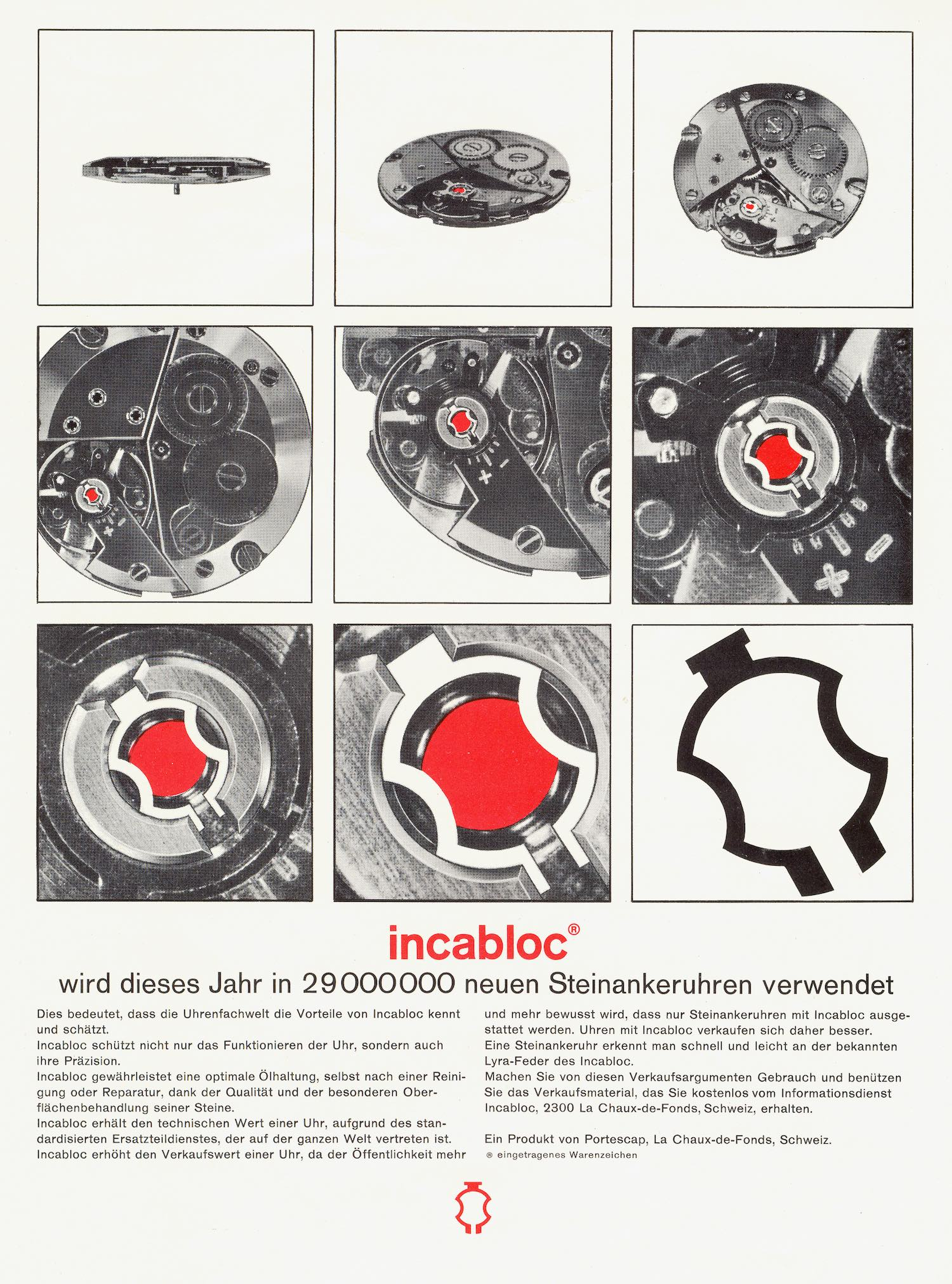 A Technical Perspective - Incabloc, historical supplier of shock absorber for the watch industry - 13