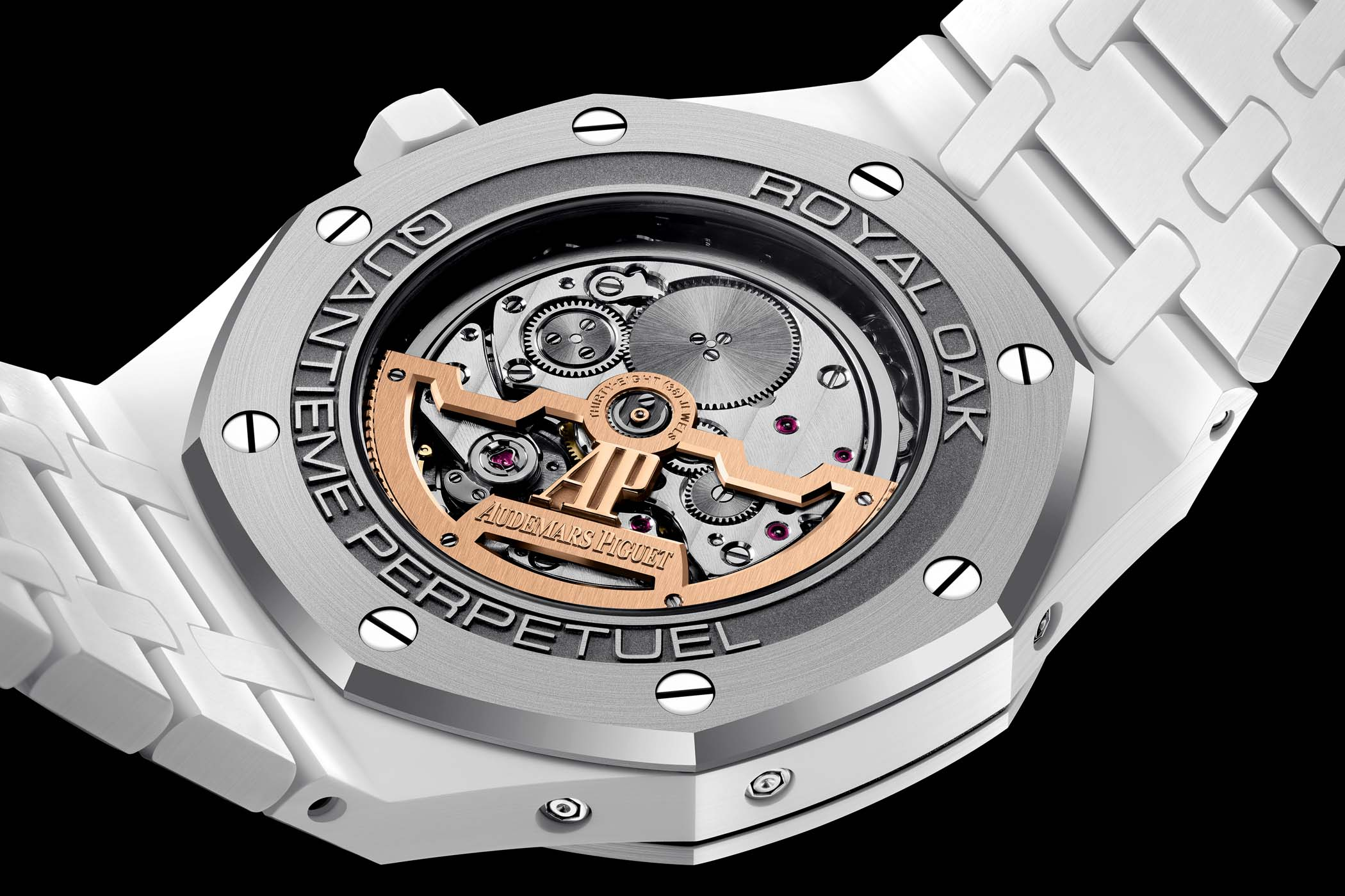 Audemars Piguet Royal Oak Perpetual Calendar White Ceramic 26579CB.OO.1225CB.01 calibre 5134 ultra-thin