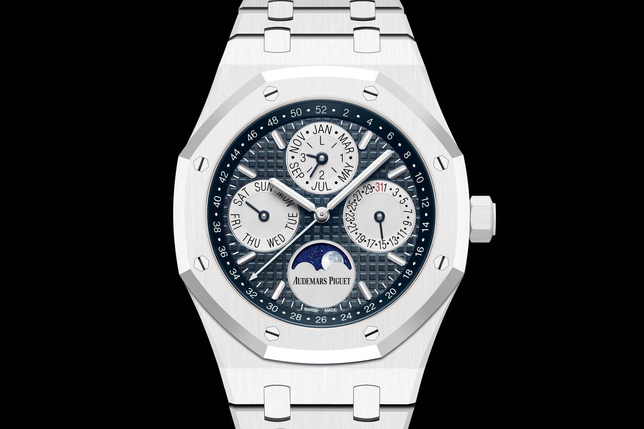 Introducing - Audemars Piguet Royal Oak Perpetual Calendar White Ceramic  26579CB.OO.1225CB.01 (Specs & Price)