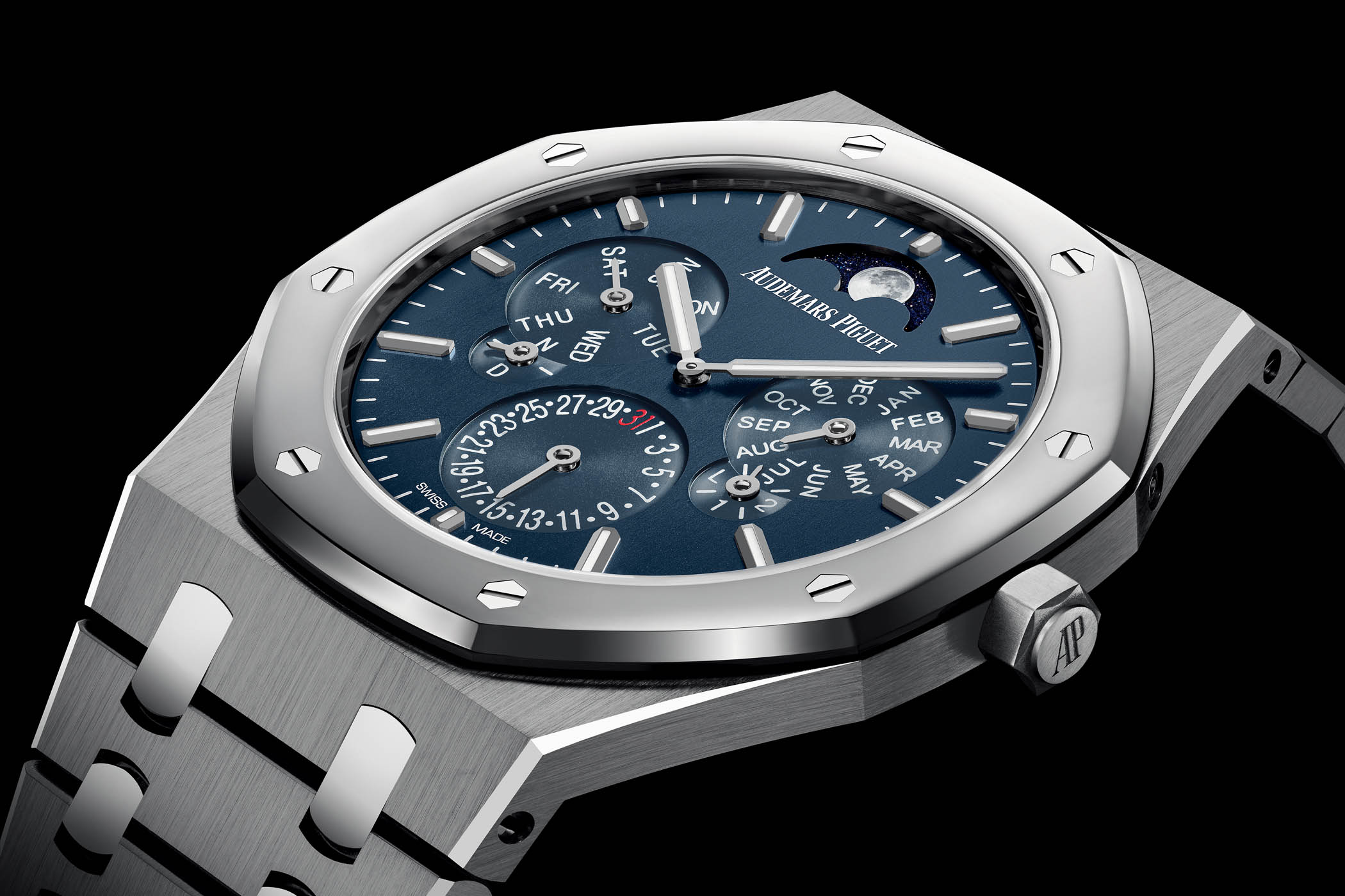 Audemars Piguet Royal Oak Selfwinding Perpetual Calendar Ultra-Thin RD2 based 26586IP.OO.1240IP.01
