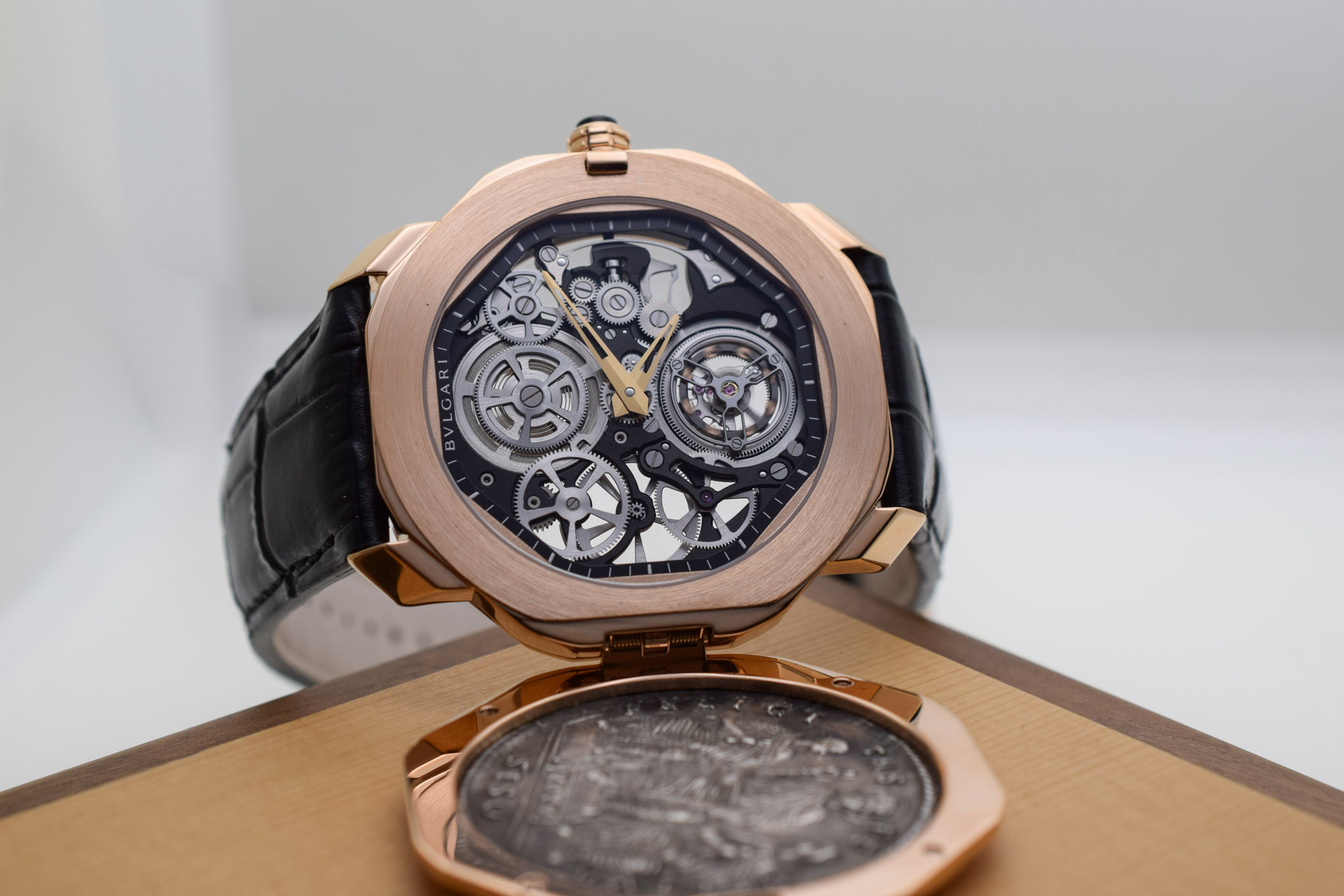 Bvlgari Octo Roma Monete Ultra-thin Skeleton Tourbillon