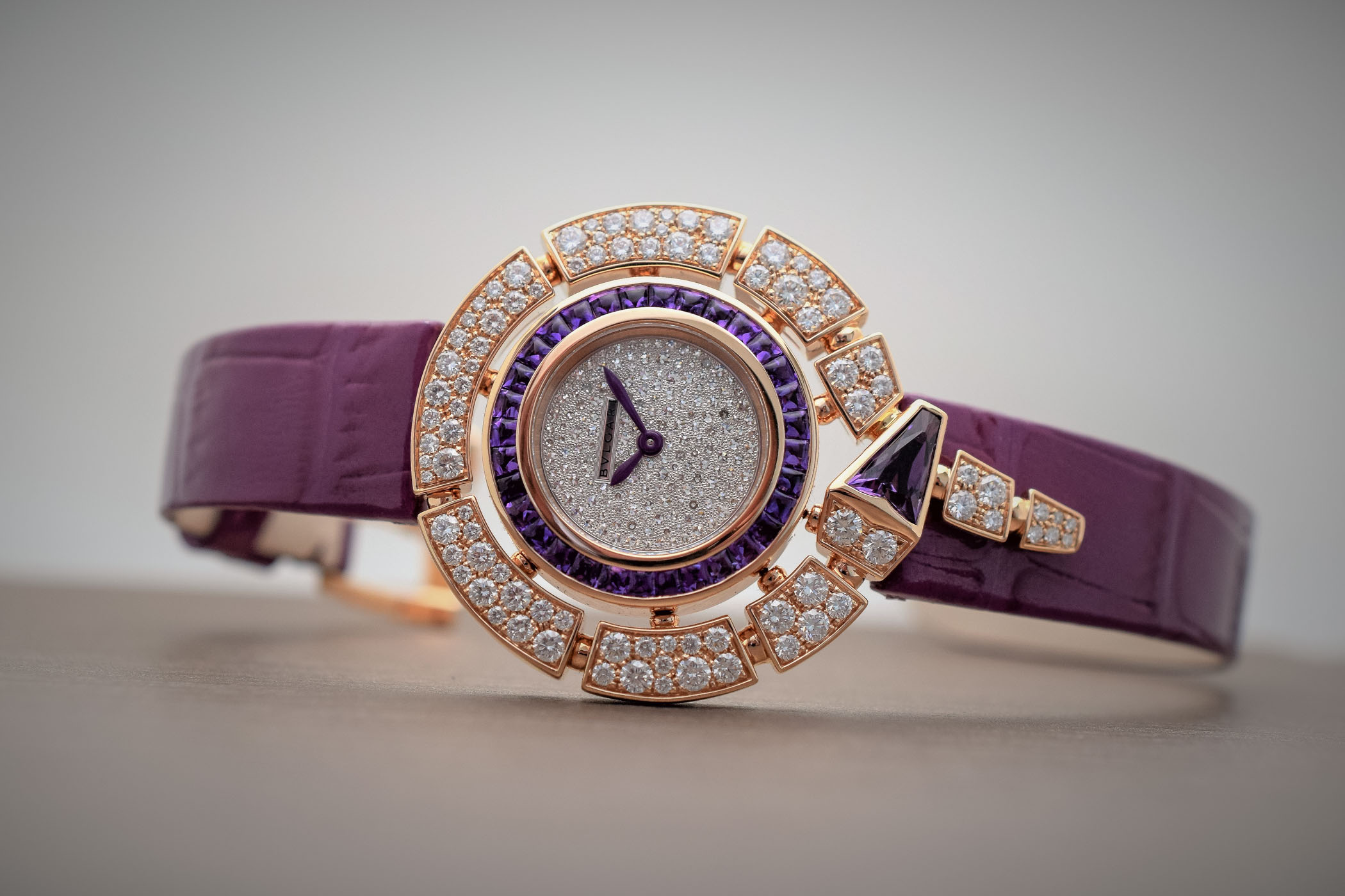 Bvlgari Amethyst capsule collection Serpenti Incantati