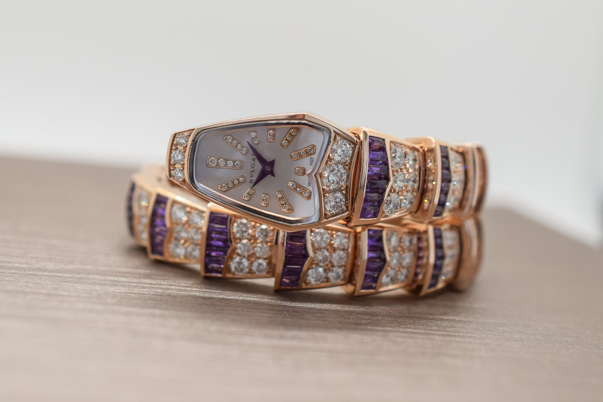 Bvlgari Amethyst capsule collection Serpenti Scaglie