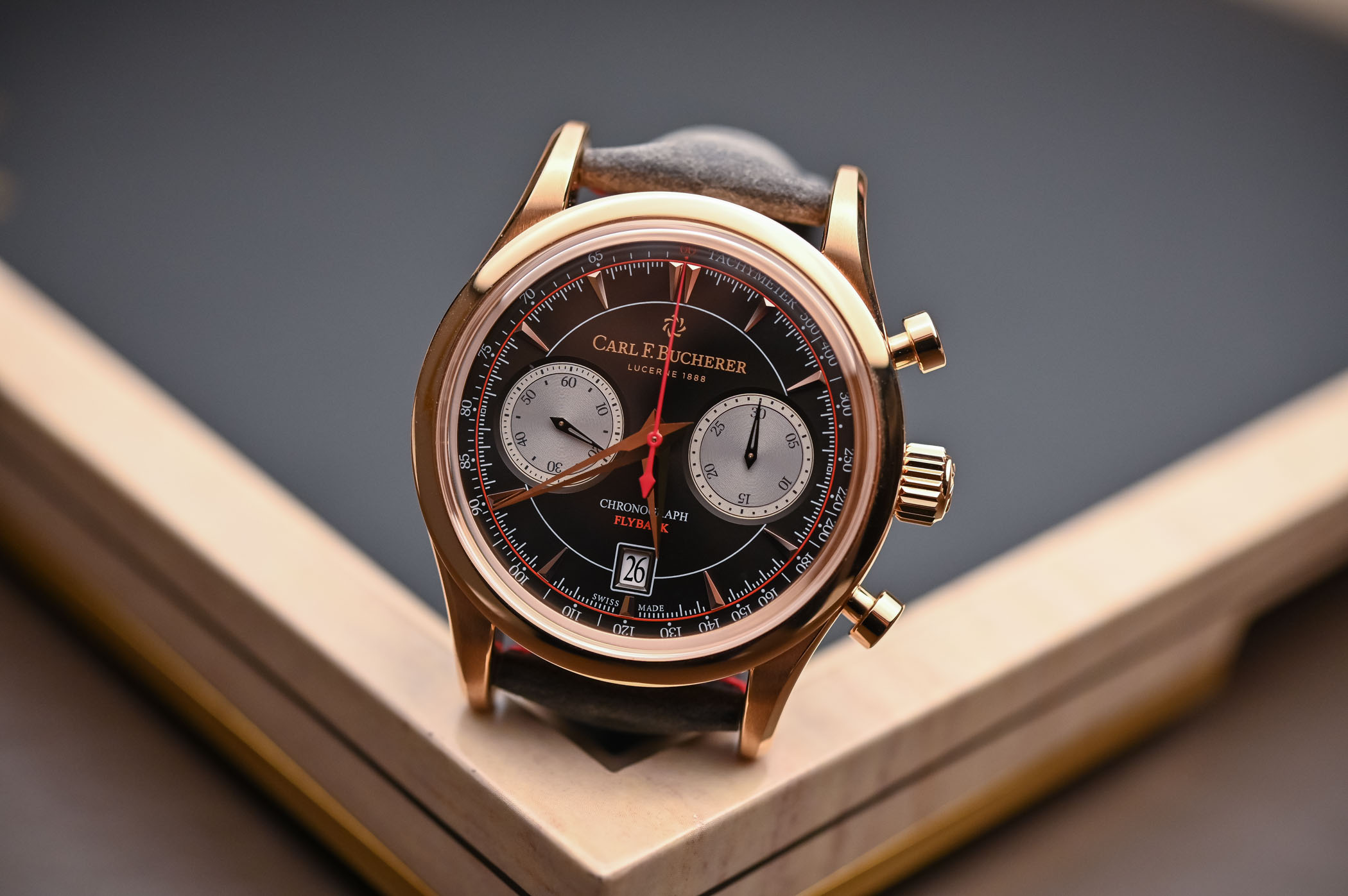 Carl F. Bucherer Manero Flyback Racing Rose Gold