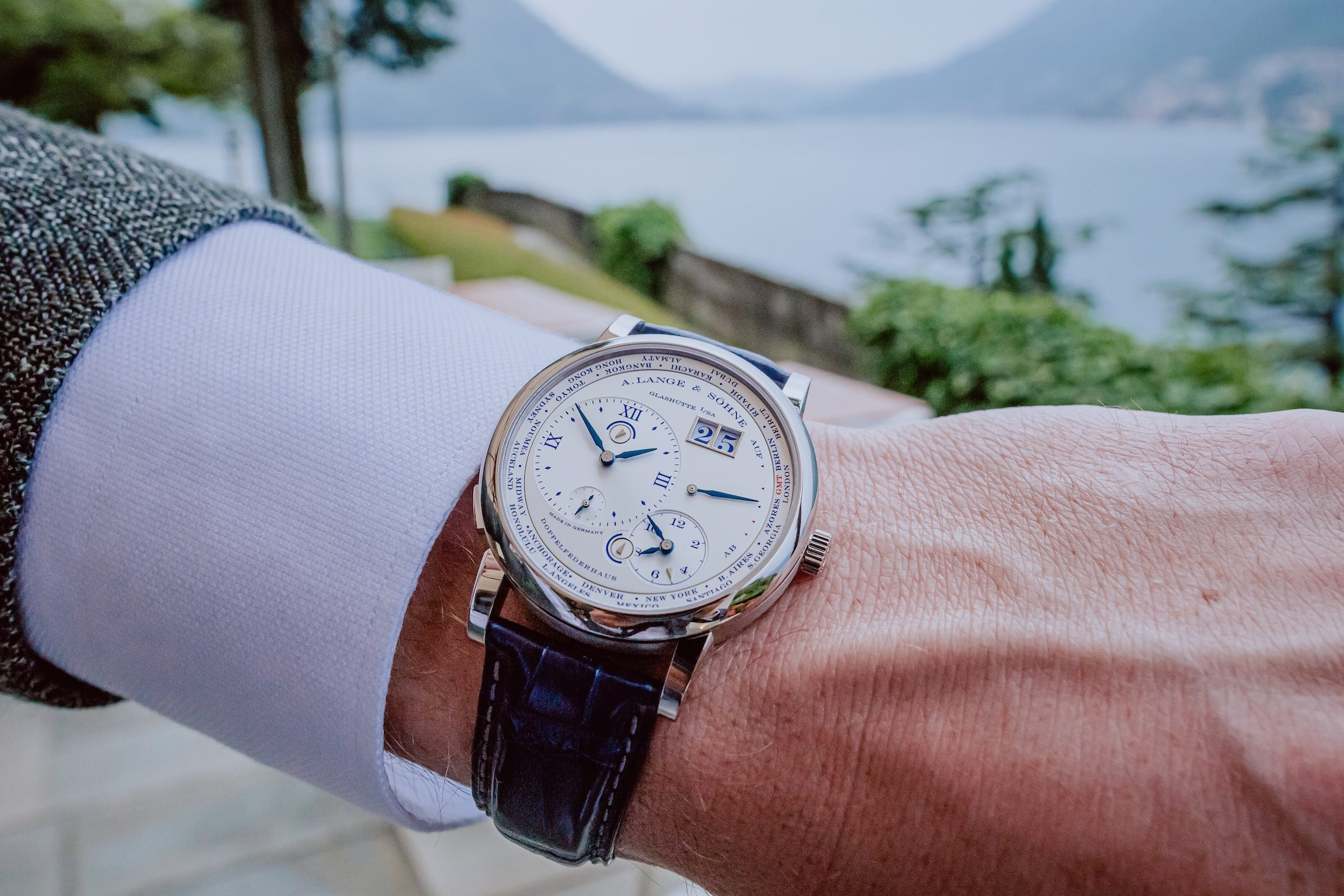 Concorso d'Eleganza Villa d'Este 2019 Lange Sohne Lange 1 Time Zone 25th Anniversary
