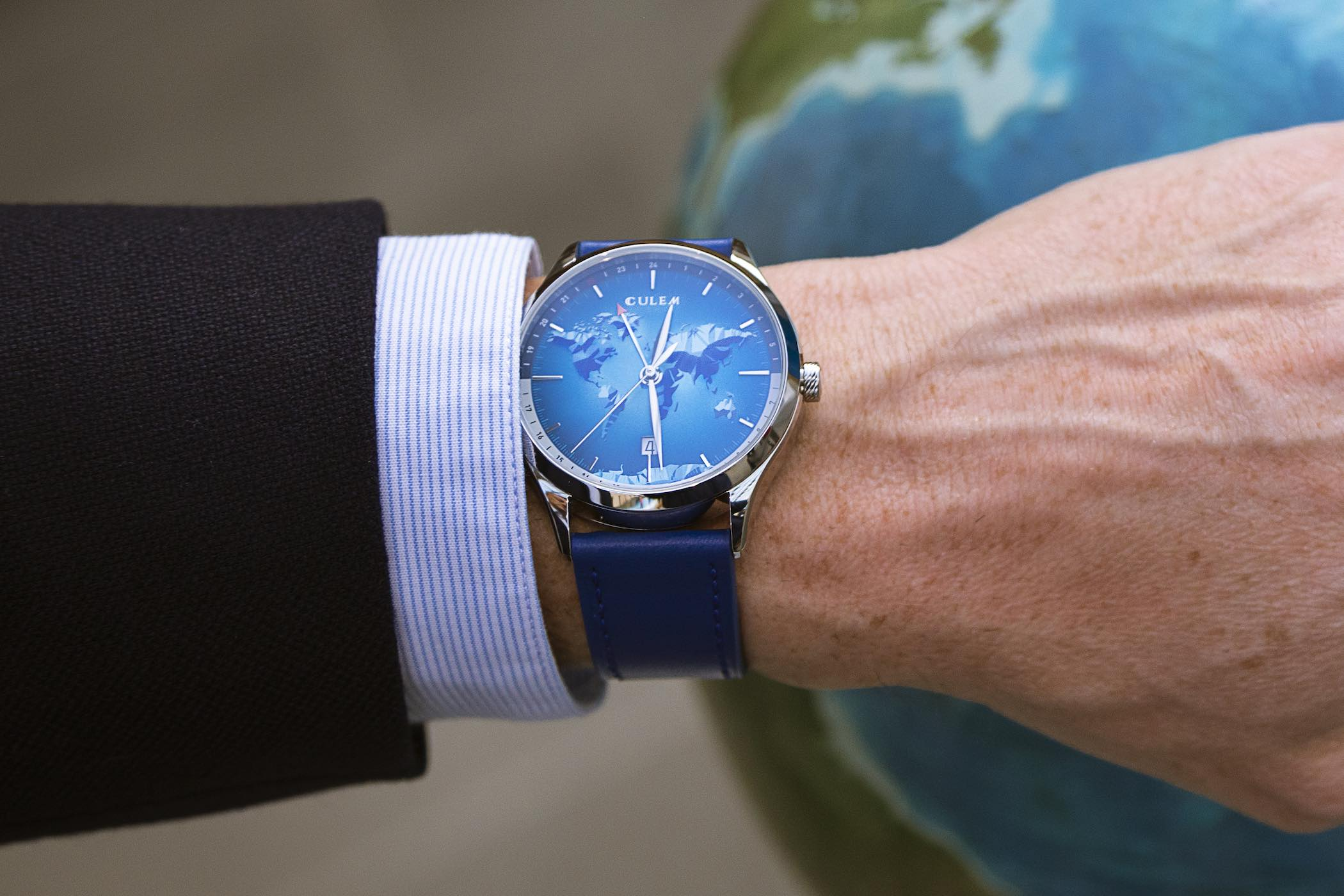 CuleM World GMT Accessible Travelers Watch Kickstarter