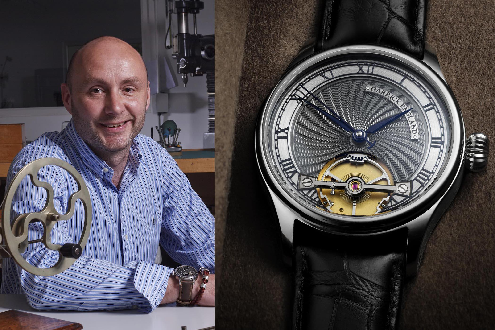 David Brailsford - Garrick Watches - Interview British Watchmakin