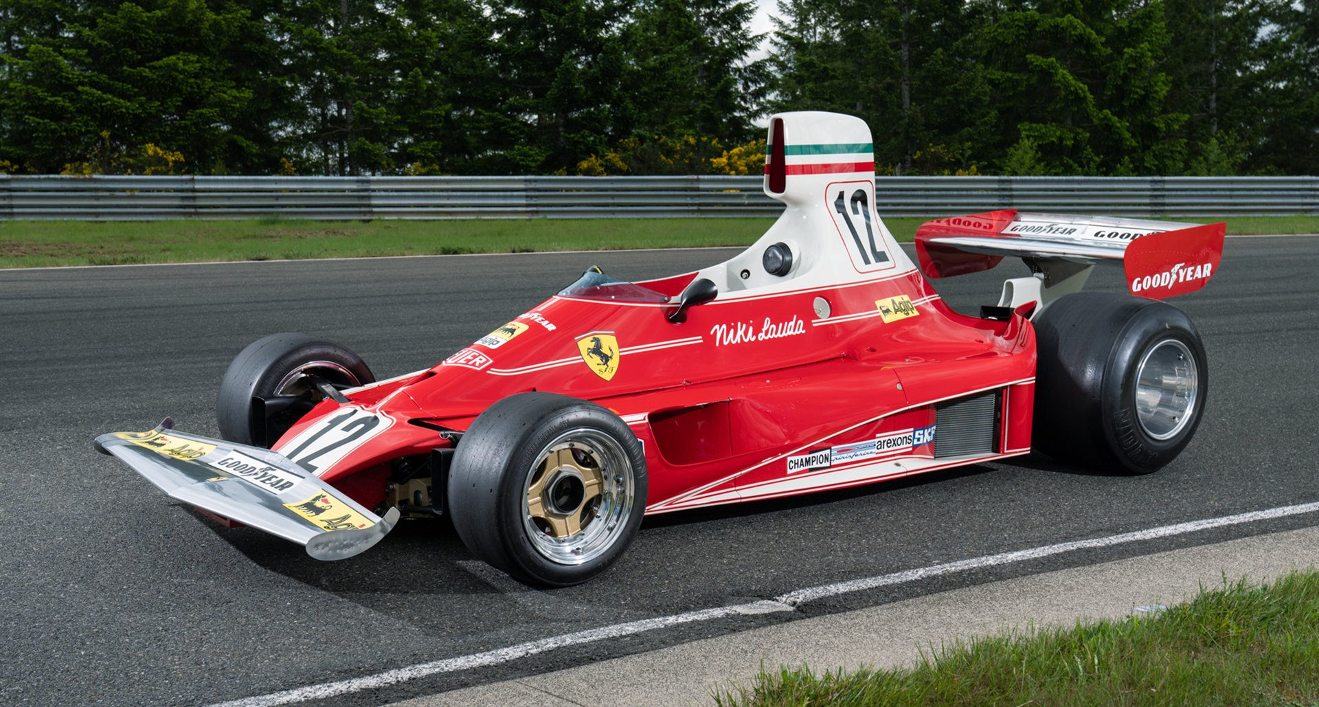 Ferrari 312T 1975 Niki Lauda auction Pebble Beach - 1