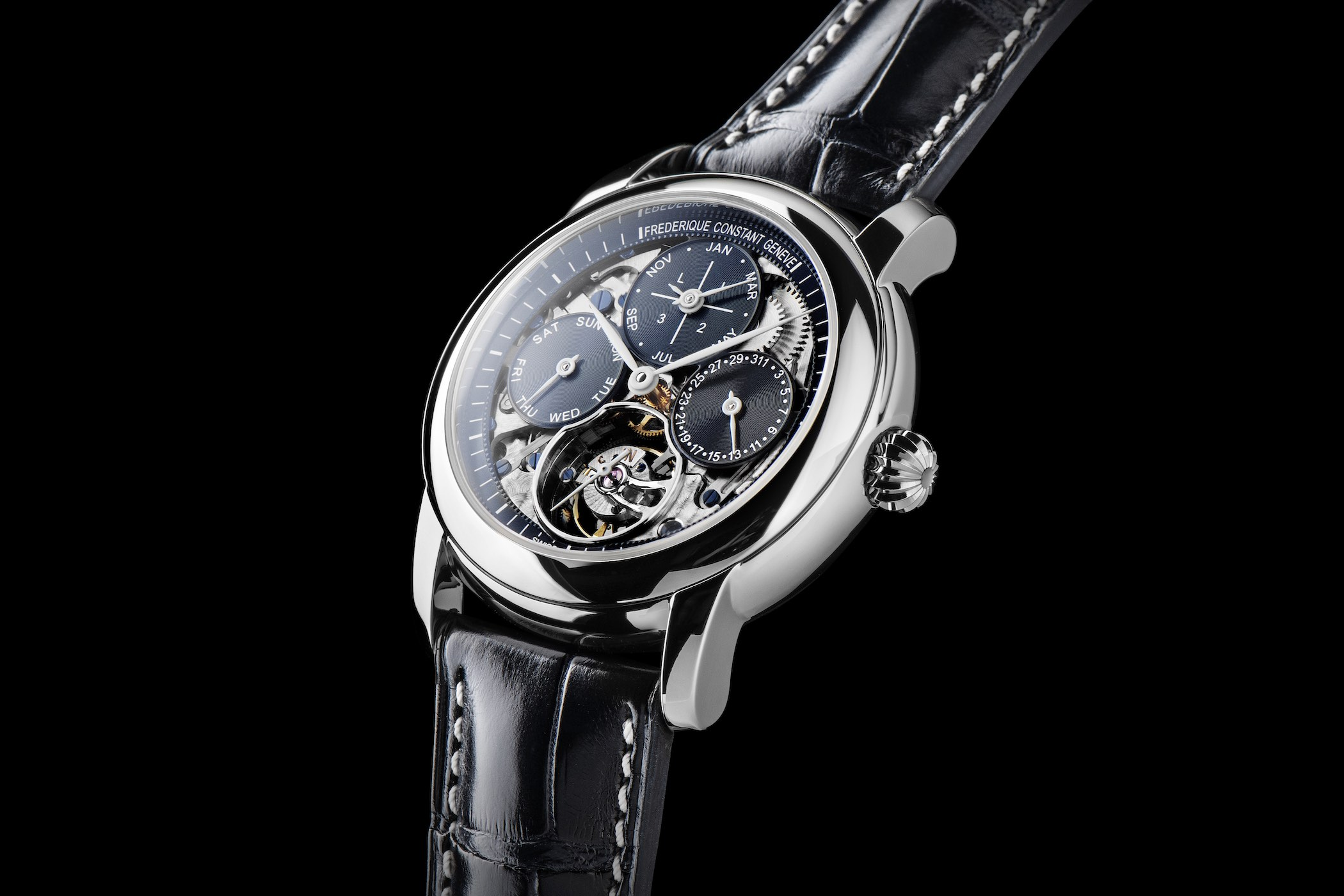 Frederique Constant Tourbillon Perpetual Calendar Manufacture Limited Edition new Manufacture 2019