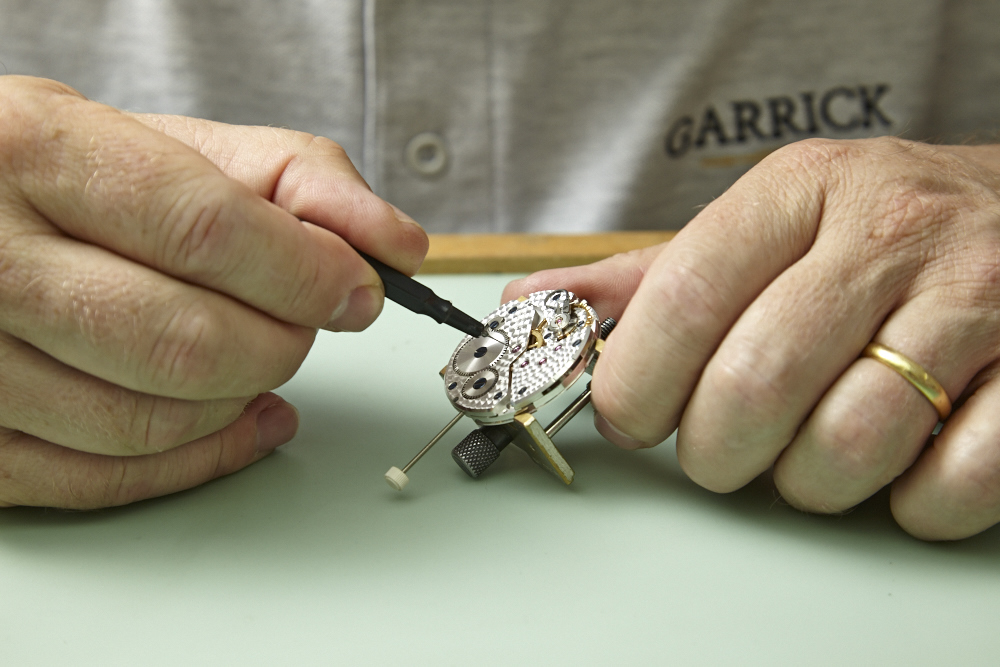 Garrick Watches Workshop Watchmakers