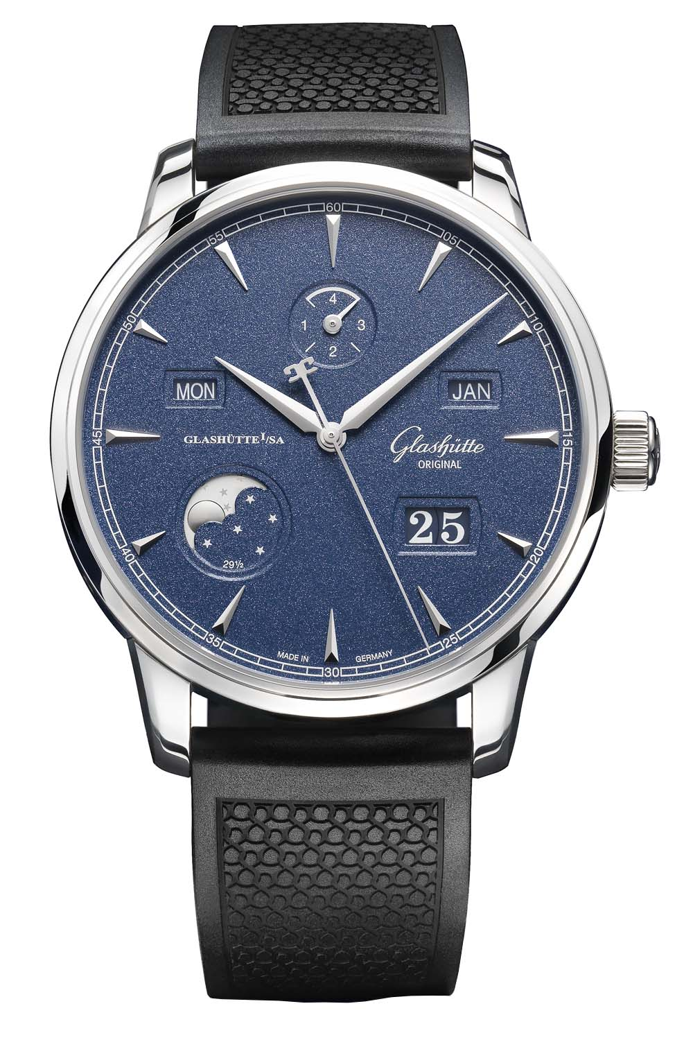Glashütte Original Senator Excellence Perpetual Calendar Bucherer Blue Editions
