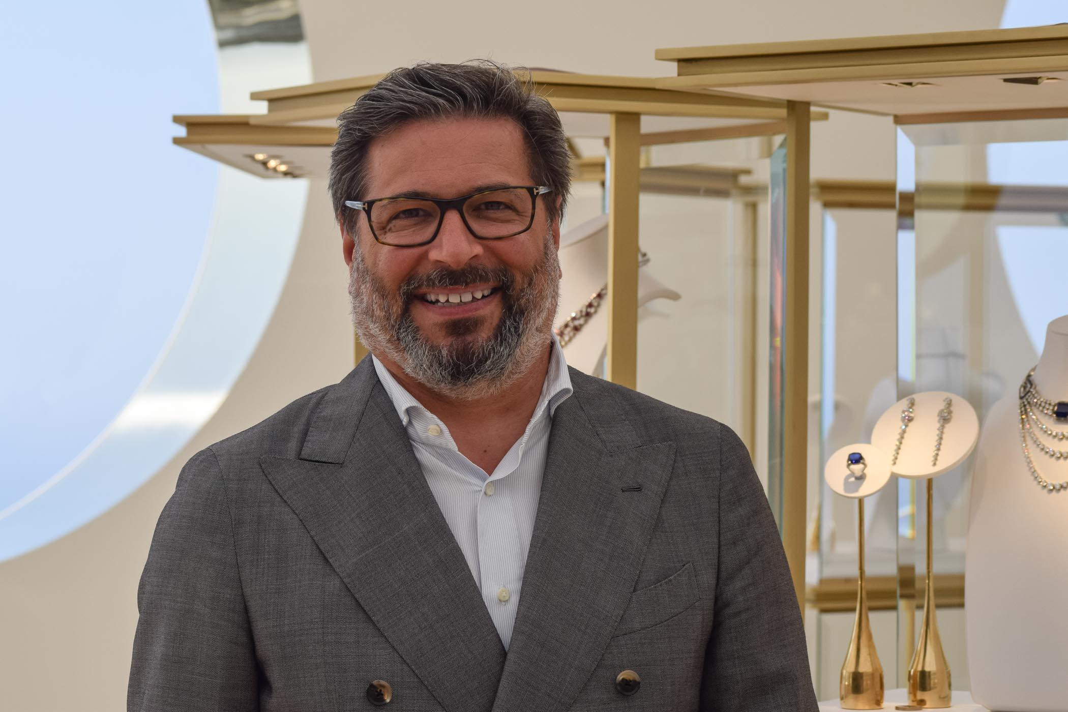 Guido Terreni Managing Director Bvlgari watch division