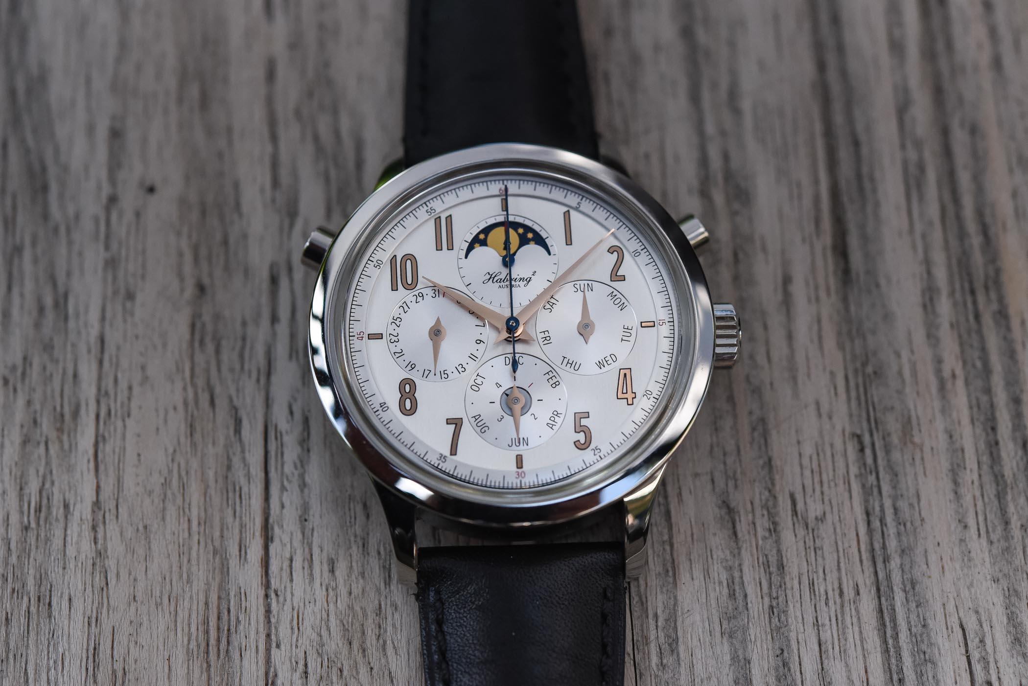 Habring2 Perpetual-Doppel Split-Seconds Chronograph Perpetual Calendar
