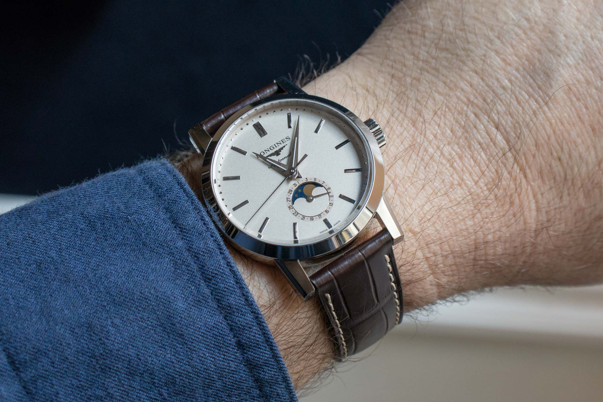 Longines 1832 Moon Phase