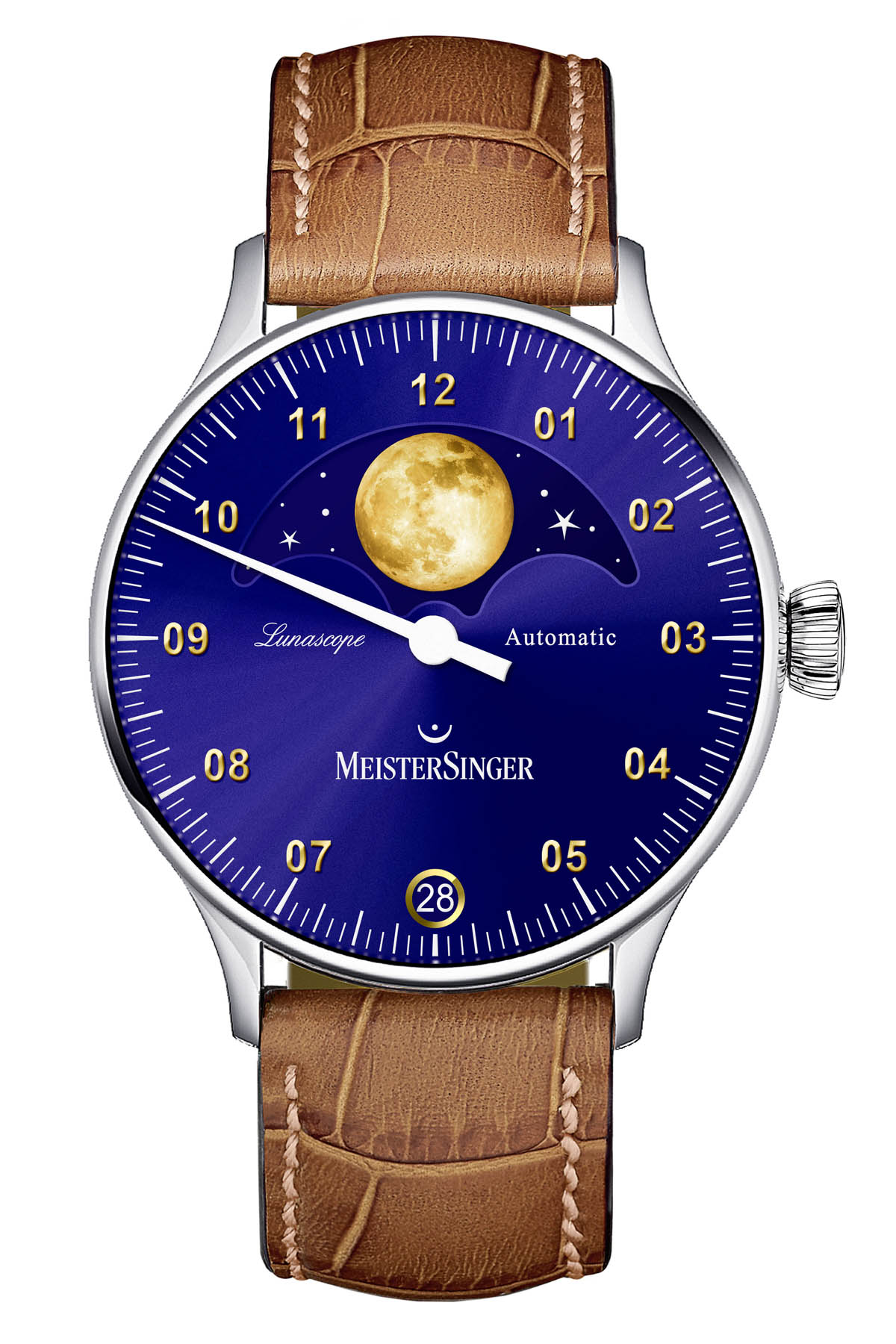 MeisterSinger Lunascope Golden Moon Edition