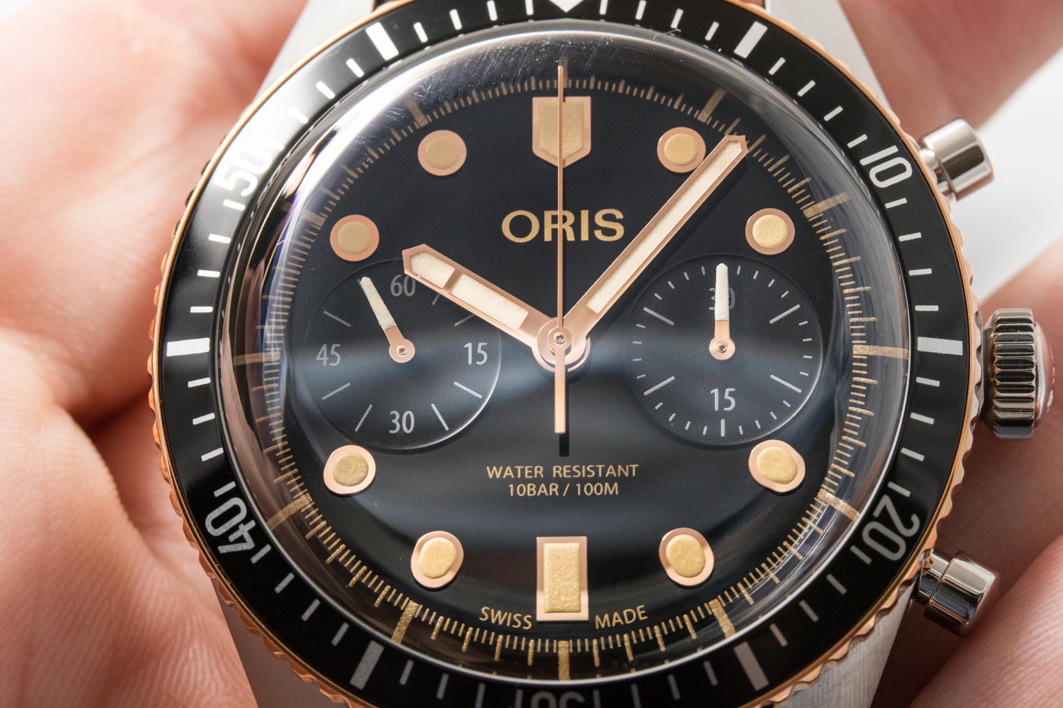 Oris Divers Sixty Five Chronograph