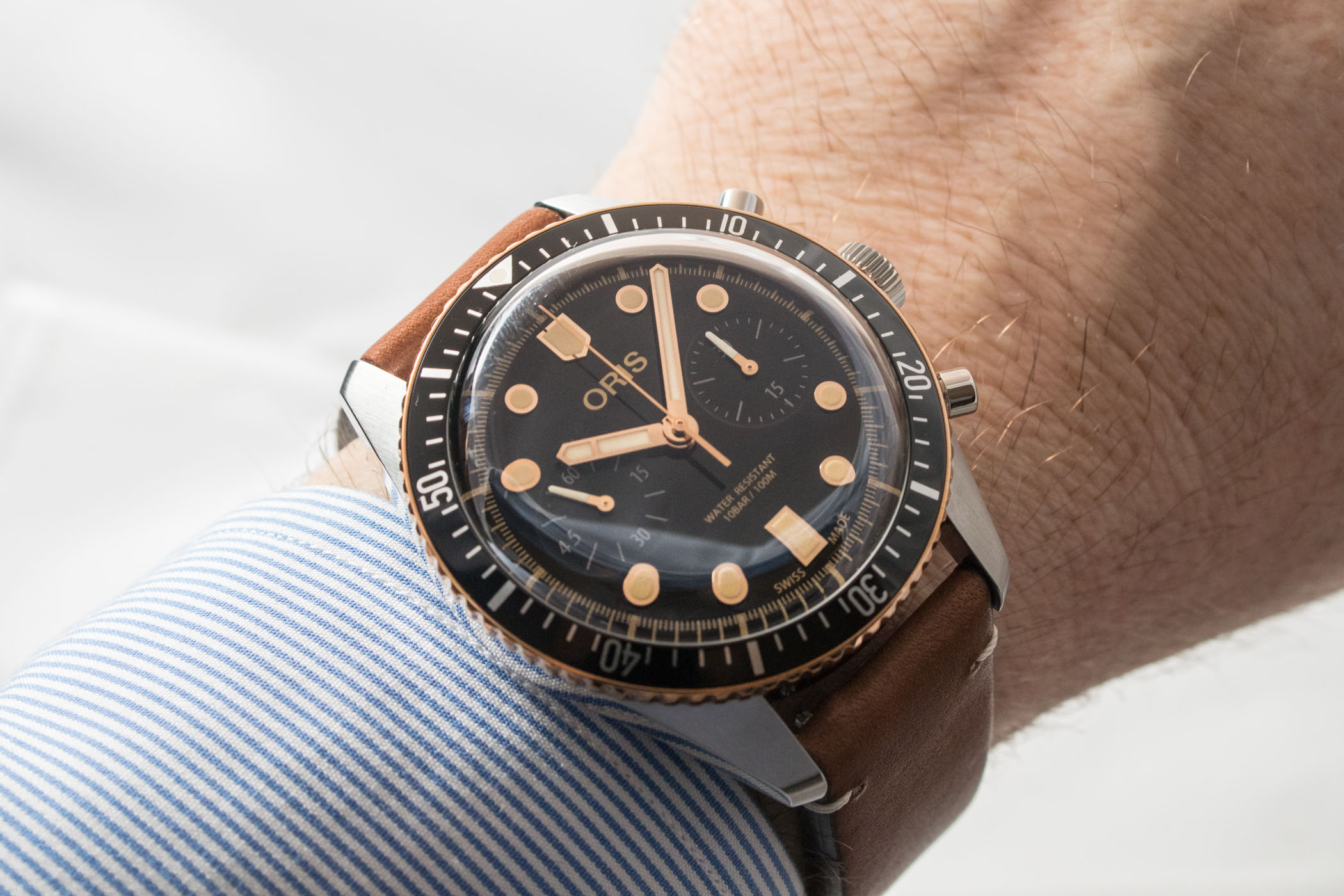 Oris Divers Sixty Five Chronograph