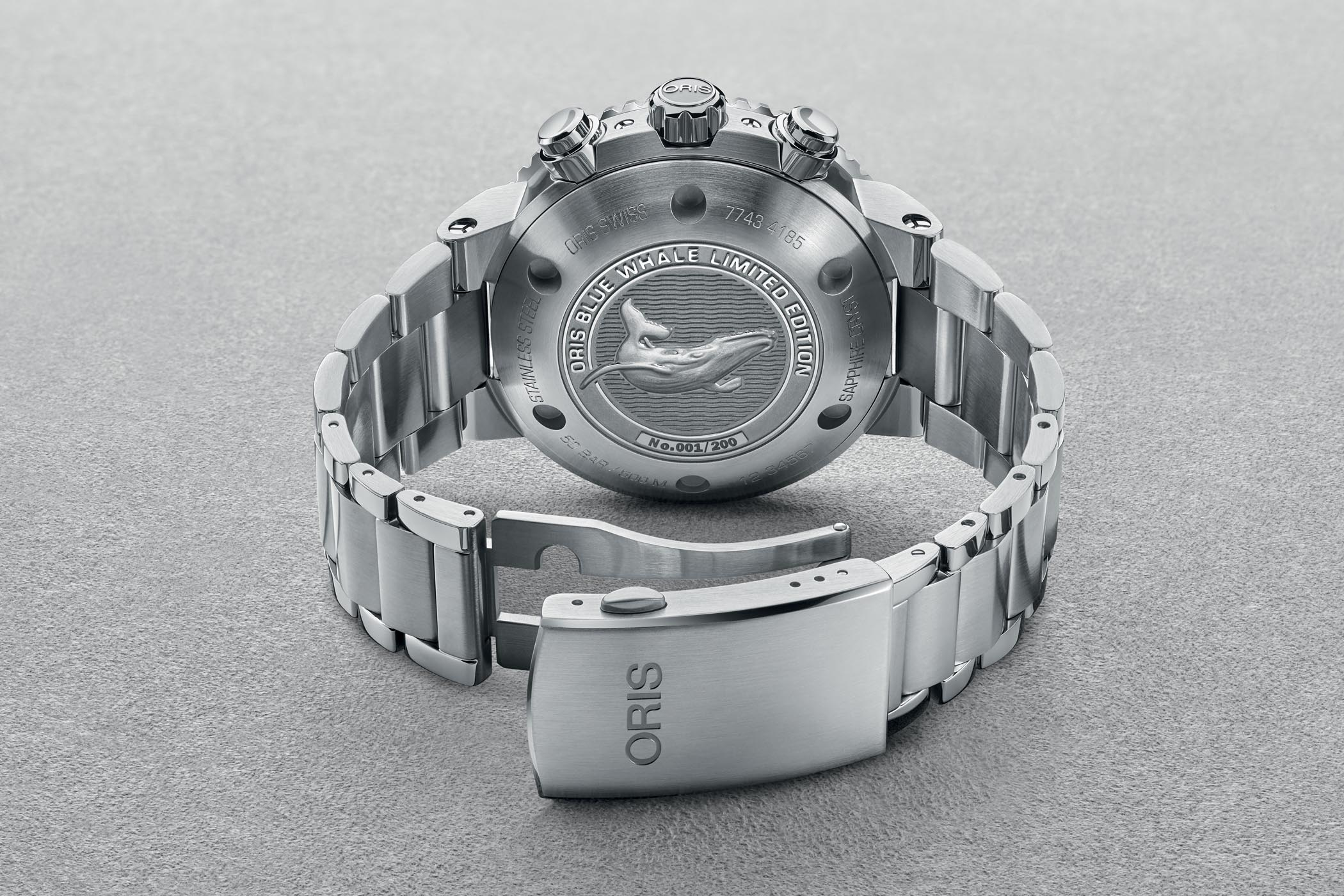 Oris Ocean Trilogy - Oris Blue Whale Limited Edition
