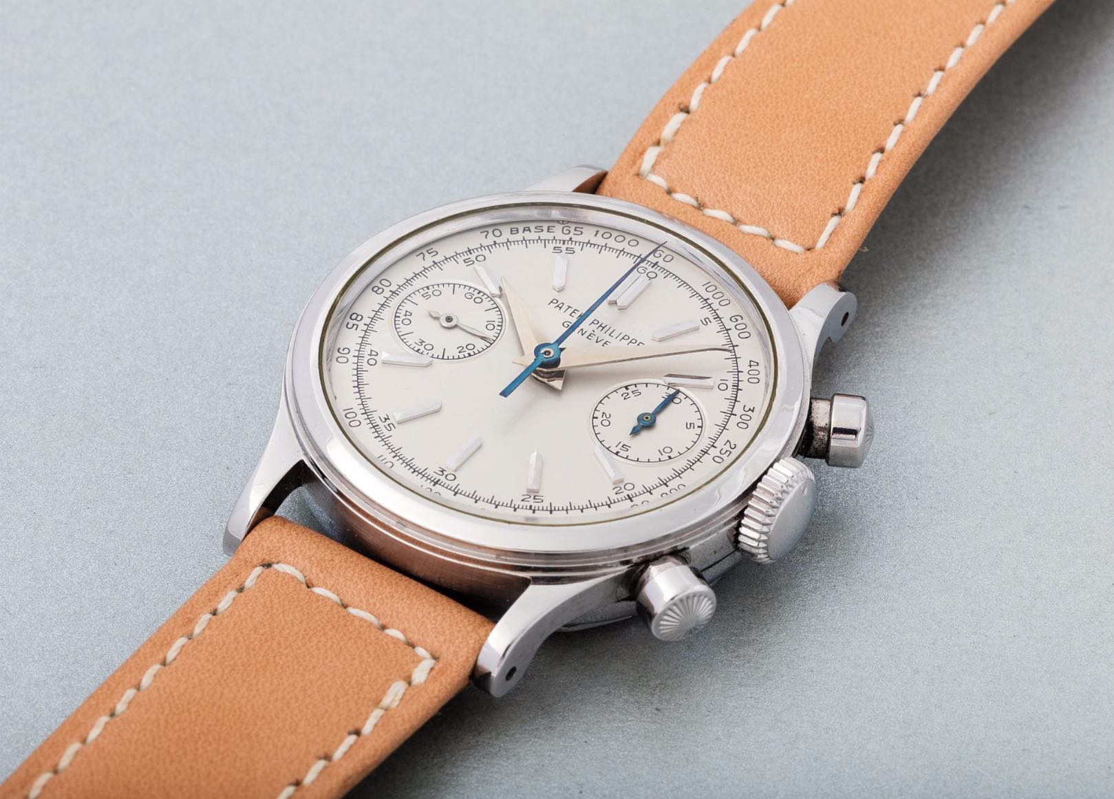 Patek Philippe Hand-wound chronograph 1463 - credits Phillips Watches