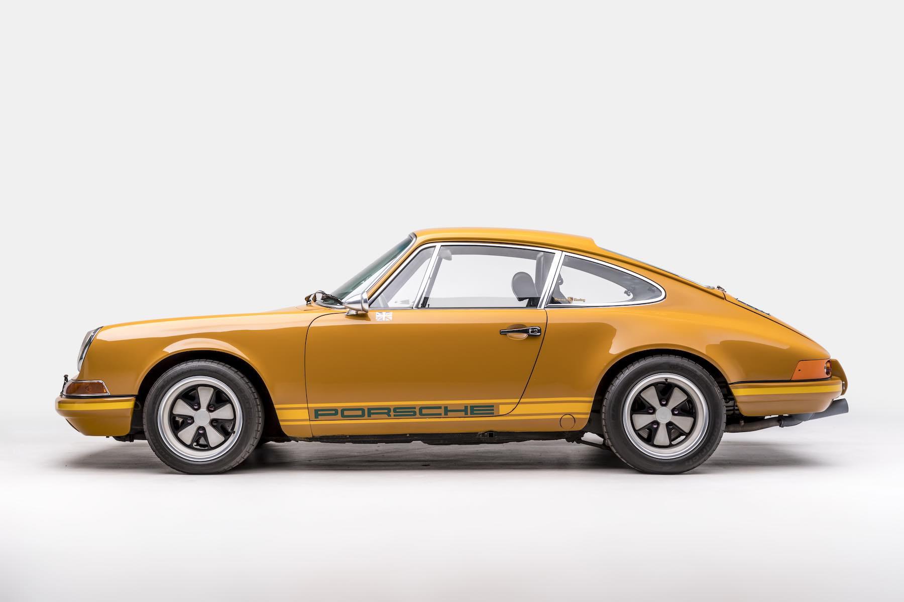 Rob Dickinson Singer Vehicle Design - 1969 911E first car - 11