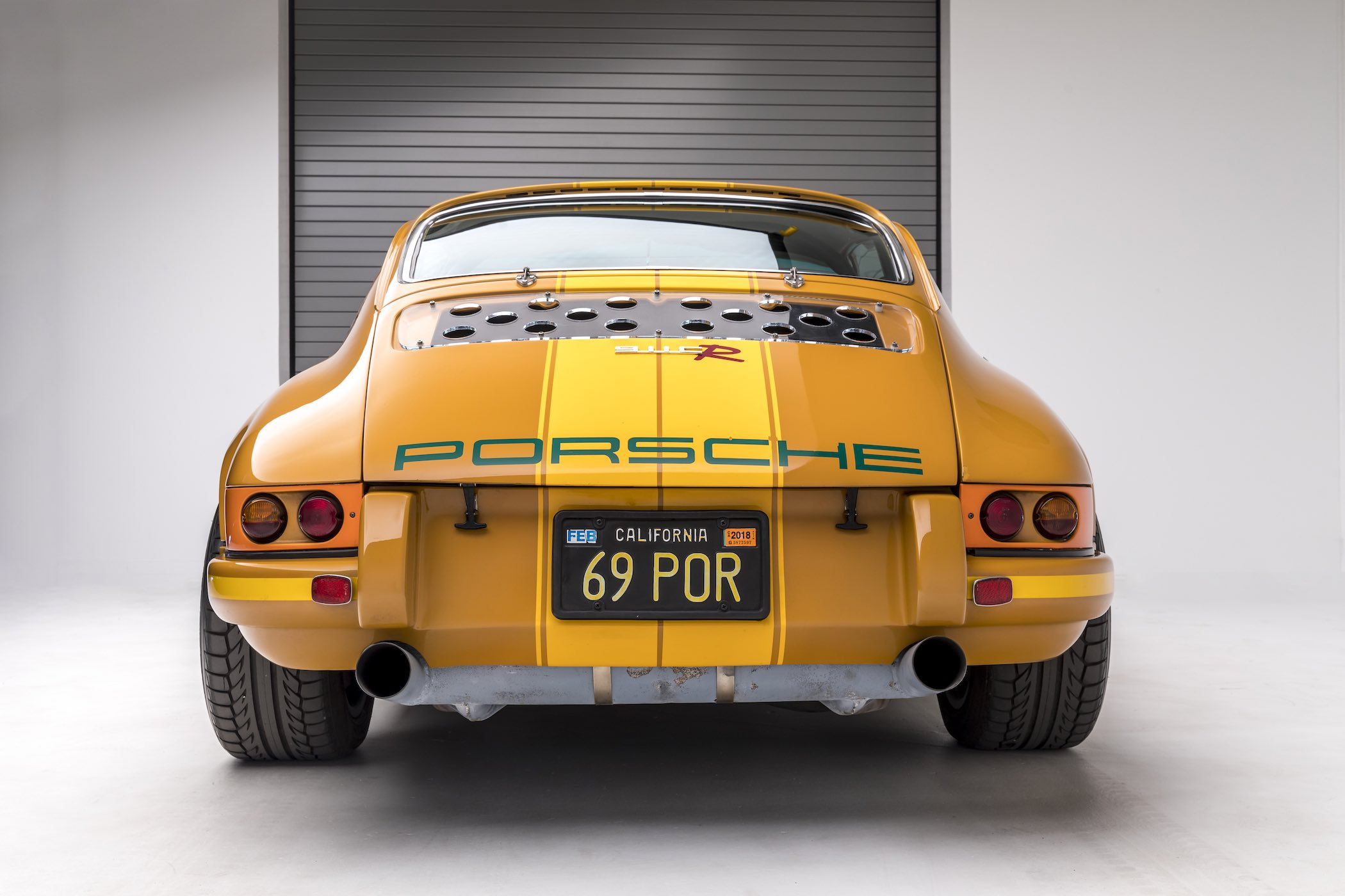 Rob Dickinson Singer Vehicle Design - 1969 911E first car