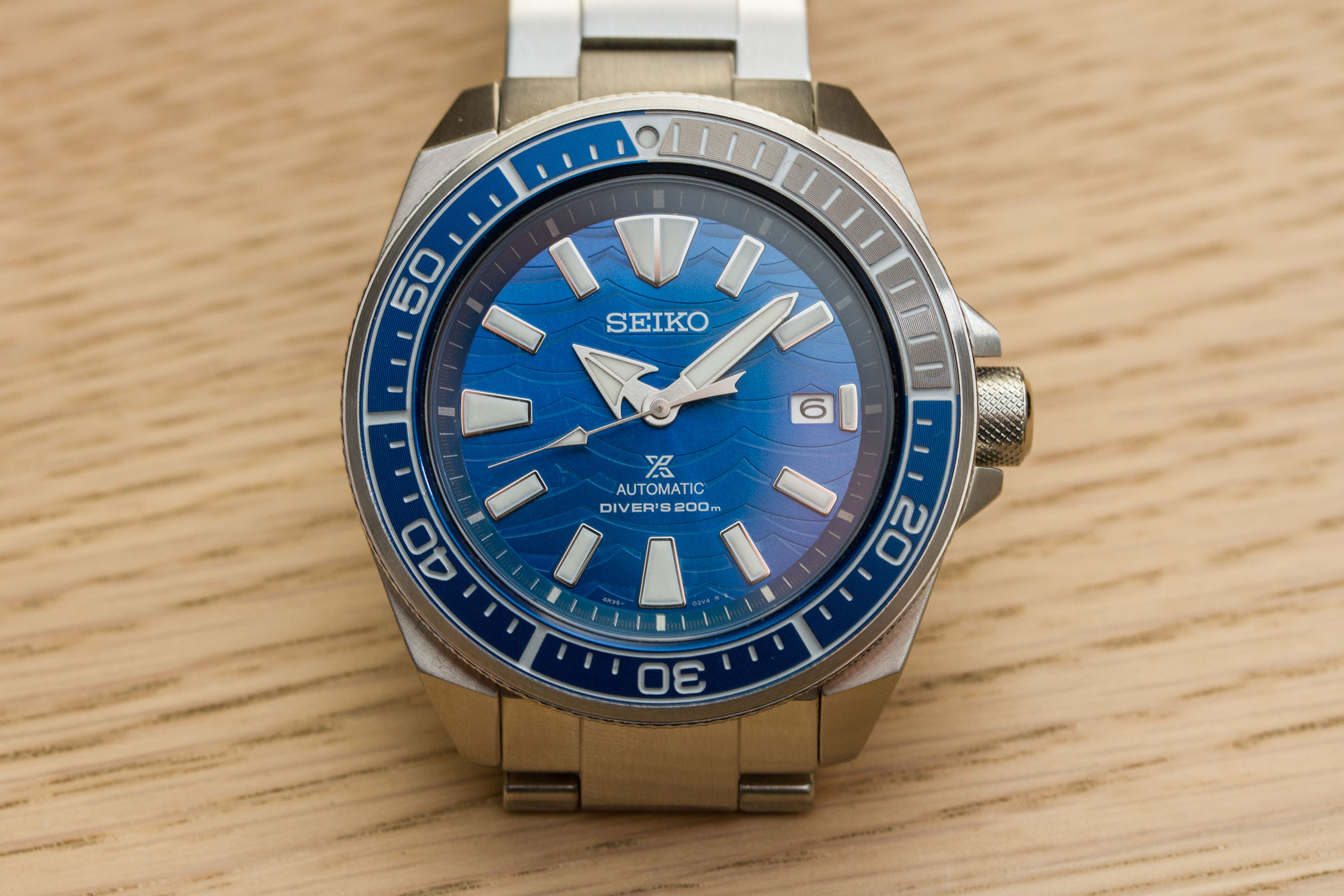 Seiko Save The Ocean Special Edition 2019 Samurai SRPD23K1
