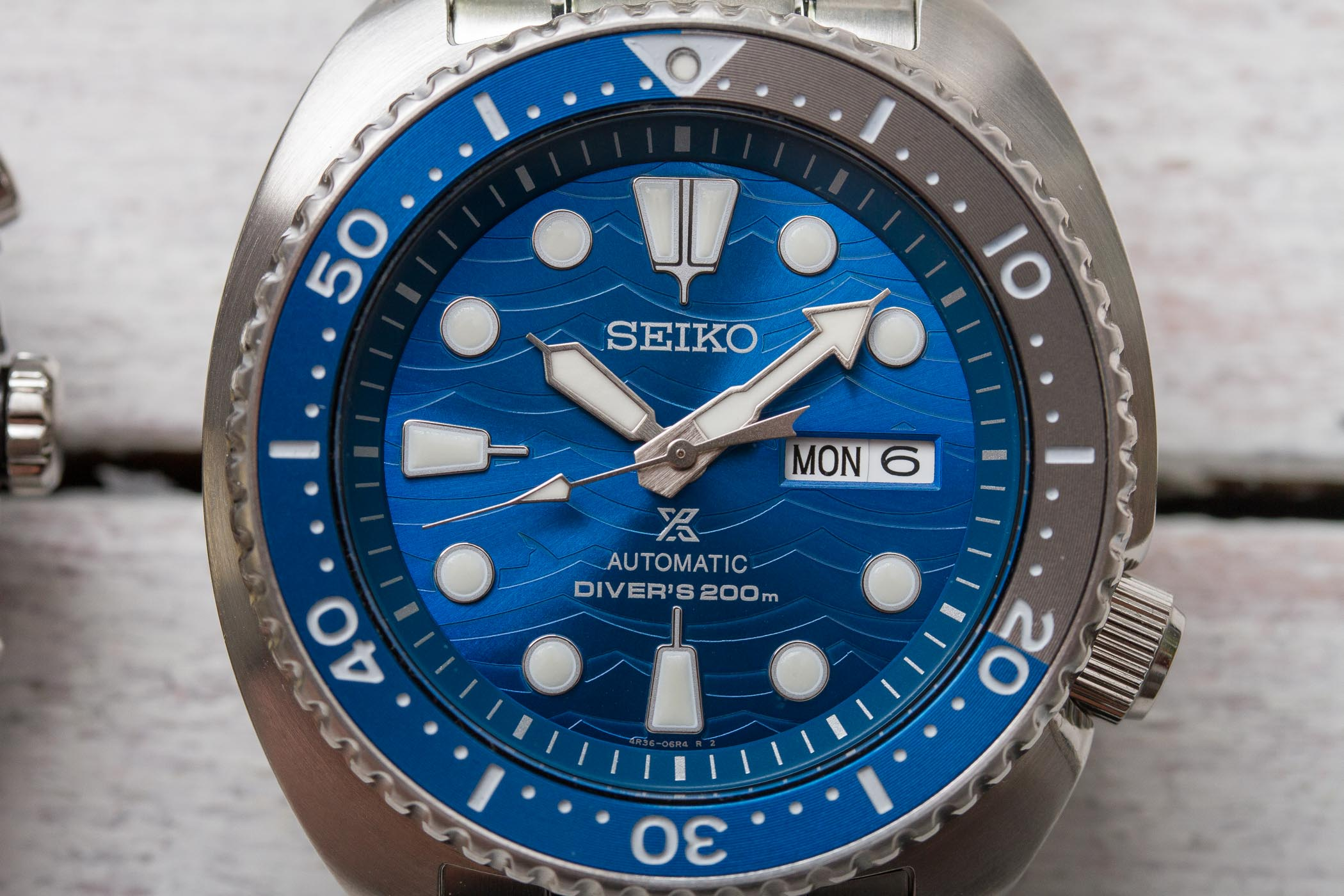 Seiko Save The Ocean Special Edition 2019 Turtle SRPD21K1