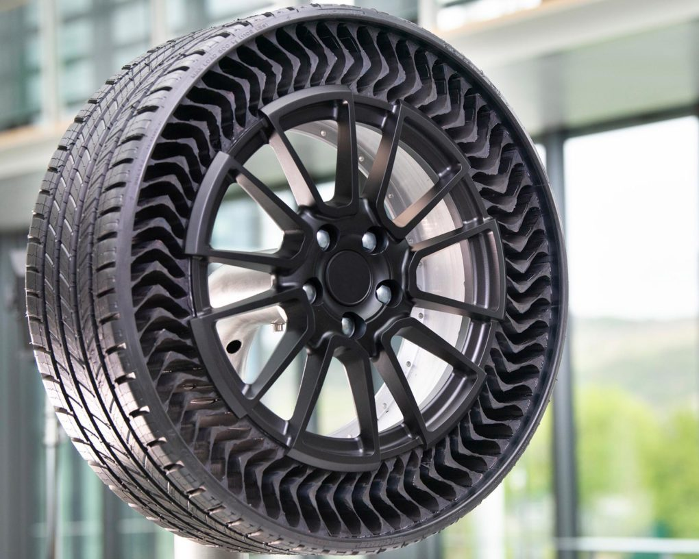 The Petrolhead Corner - Michelin x GM Airless Tire Uptis