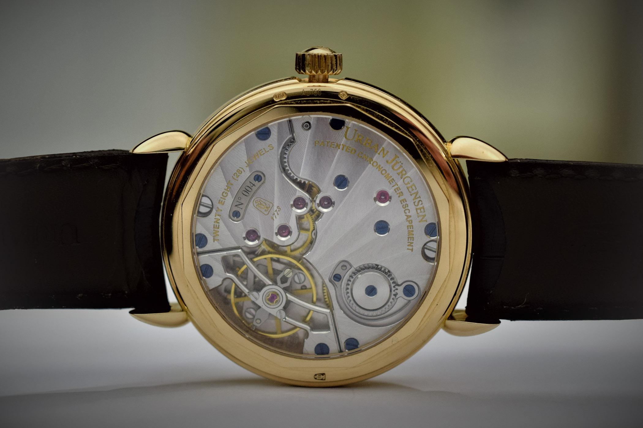 Urban Jurgensen P8 with detent escapement